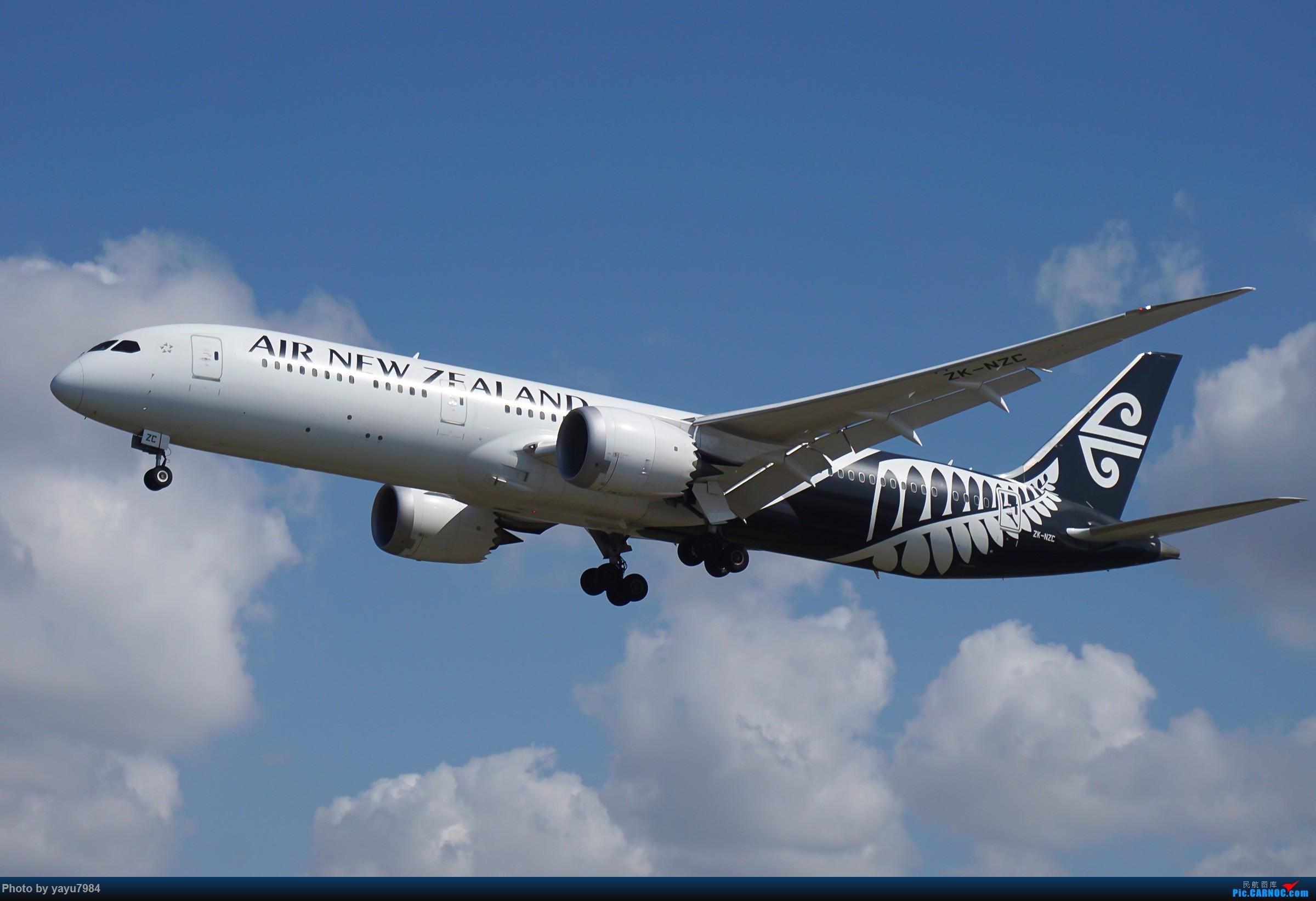 Re:[SYD] 东航天合332,雪绒花343,华航蓝鹊,以及其他日常货 BOEING 787-9 ZK-NZC 澳大利亚悉尼金斯福德·史密斯机场