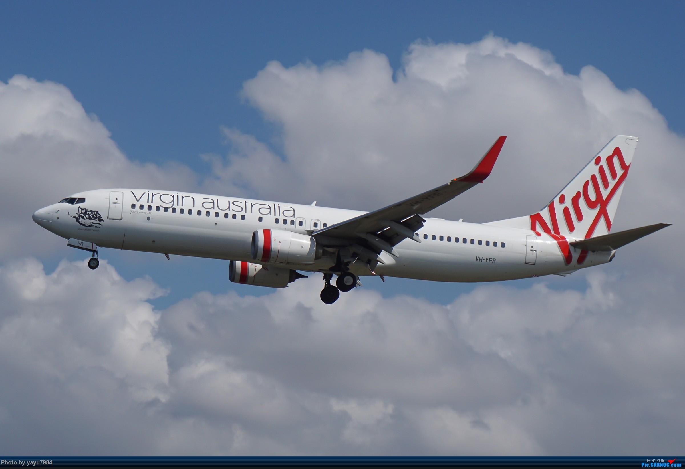 Re:[原创][SYD] 东航天合332,雪绒花343,华航蓝鹊,以及其他日常货 BOEING 737-800 VH-YFR 澳大利亚悉尼金斯福德·史密斯机场