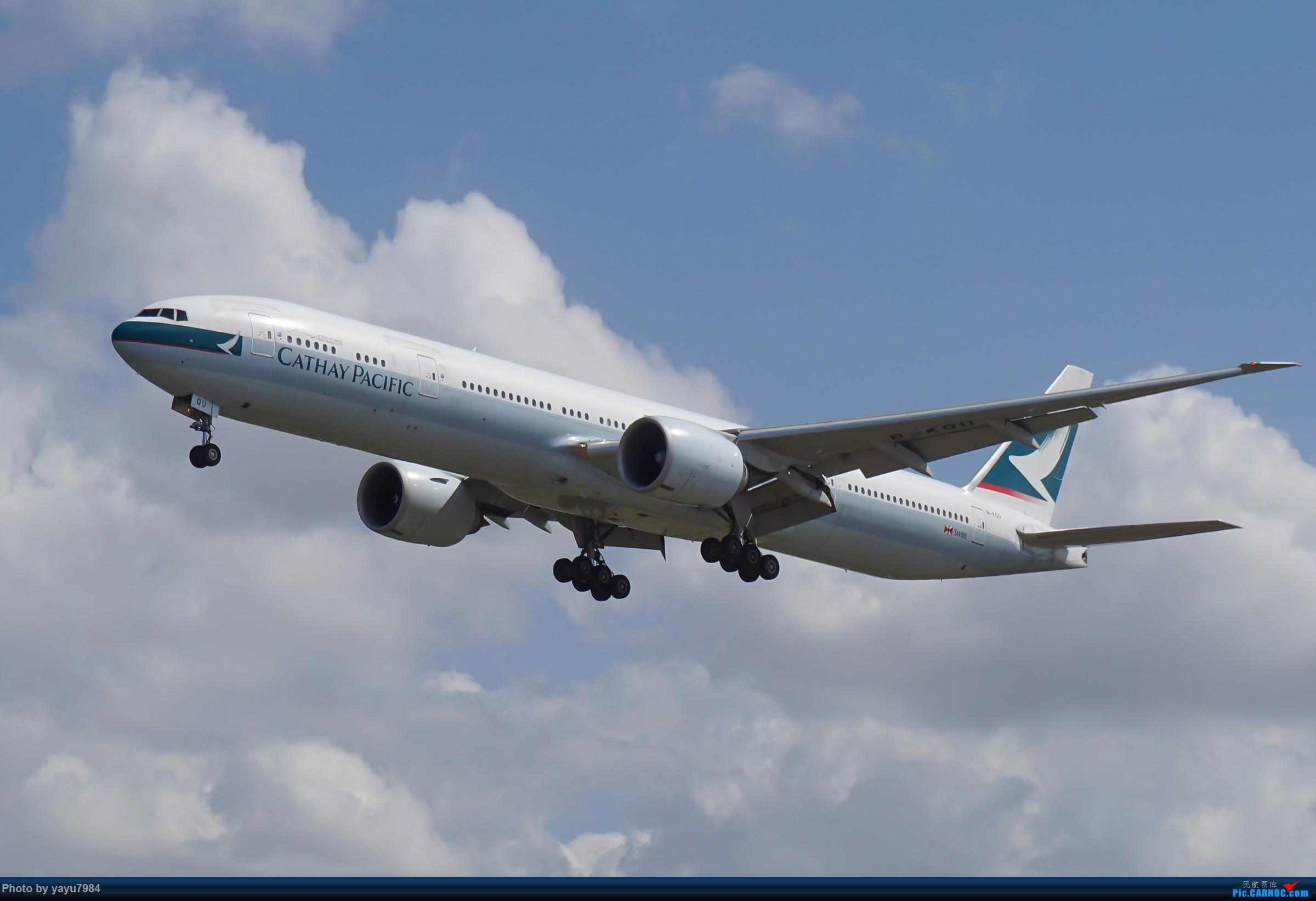 Re:[原创][SYD] 东航天合332,雪绒花343,华航蓝鹊,以及其他日常货 BOEING 777-300ER B-KQU 澳大利亚悉尼金斯福德·史密斯机场