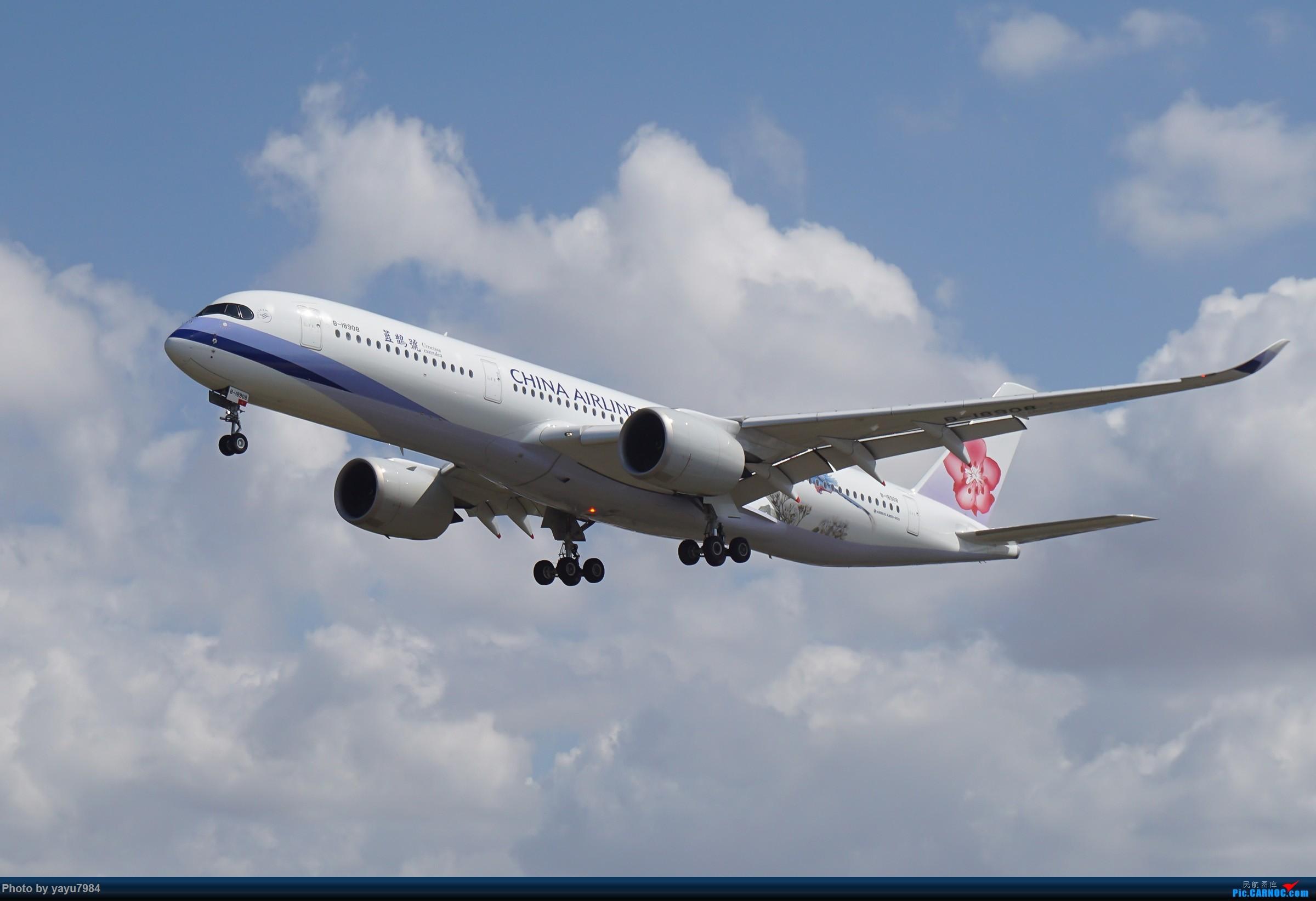 Re:[SYD] 东航天合332,雪绒花343,华航蓝鹊,以及其他日常货 AIRBUS A350-900 B-18908 澳大利亚悉尼金斯福德·史密斯机场