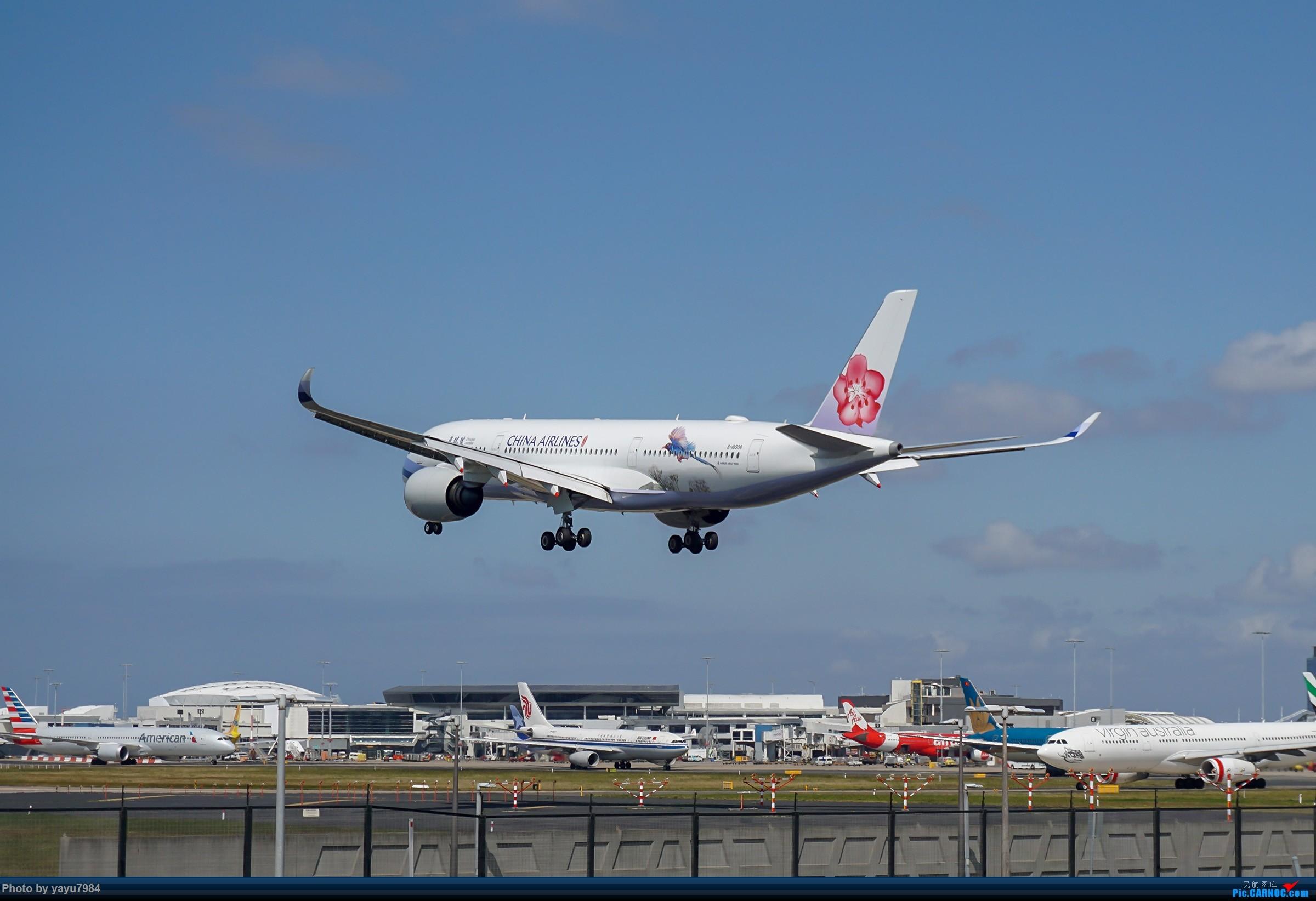 Re:[原创][SYD] 东航天合332,雪绒花343,华航蓝鹊,以及其他日常货 AIRBUS A350-900 B-18908 澳大利亚悉尼金斯福德·史密斯机场