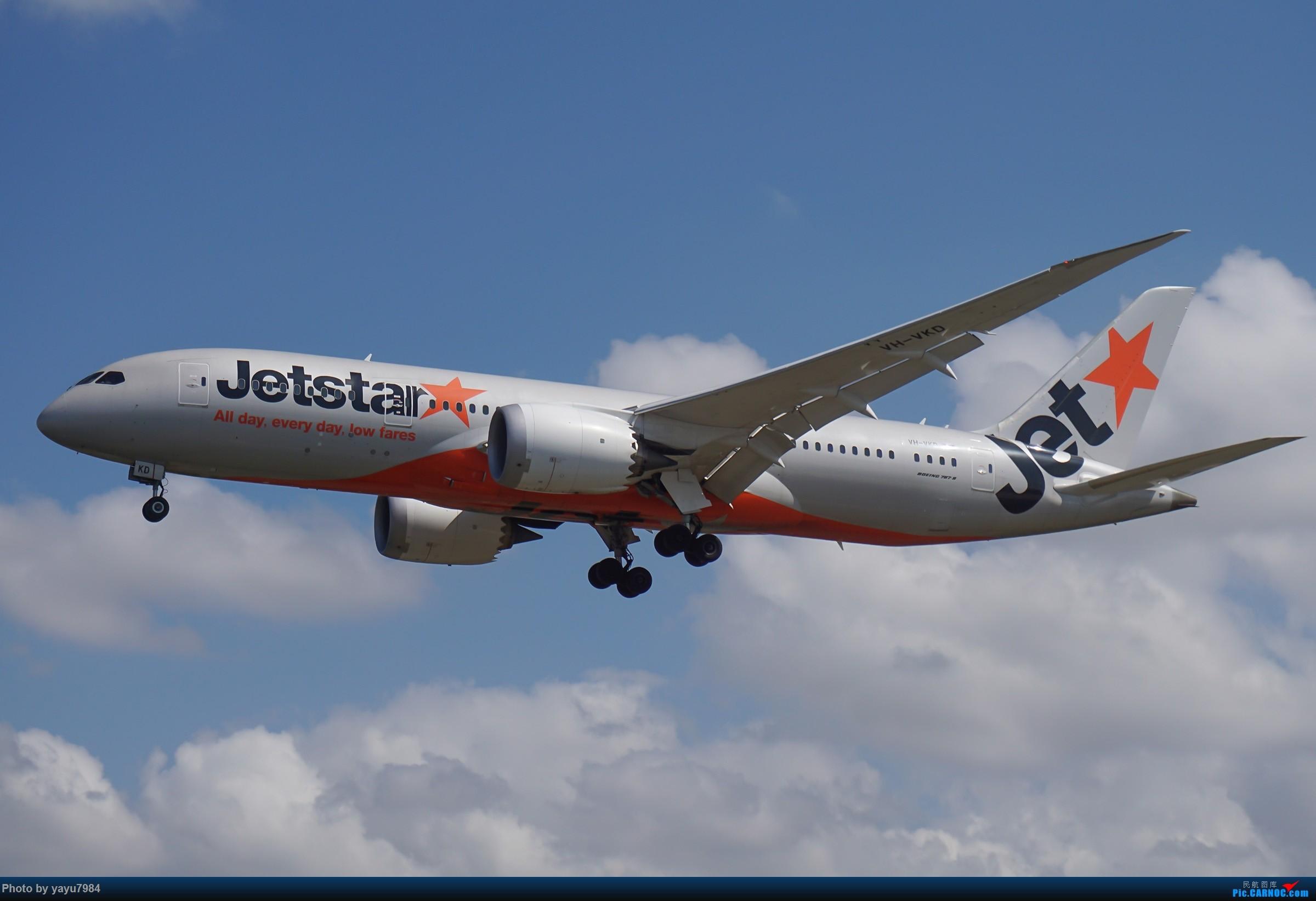 Re:[原创][SYD] 东航天合332,雪绒花343,华航蓝鹊,以及其他日常货 BOEING 787-8 VH-VKD 澳大利亚悉尼金斯福德·史密斯机场
