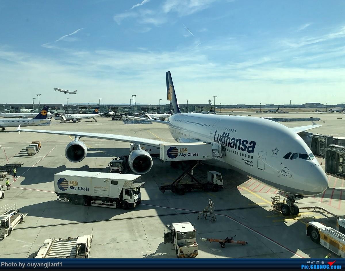 又是好久没来坛子了,发几篇2018年的飞行游记纪念一下吧....第一篇,环球飞行之旅:北京-纽瓦克-波哥大-麦德林-巴拿马城-墨西哥城-法兰克福-北京 AIRBUS A380-800 D-AIMN 德国法兰克福机场