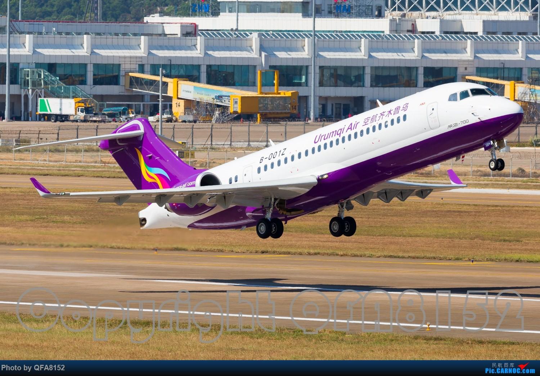 Re:[原创]这三百块花得太值了 ARJ21-700 B-001Z 珠海金湾国际机场