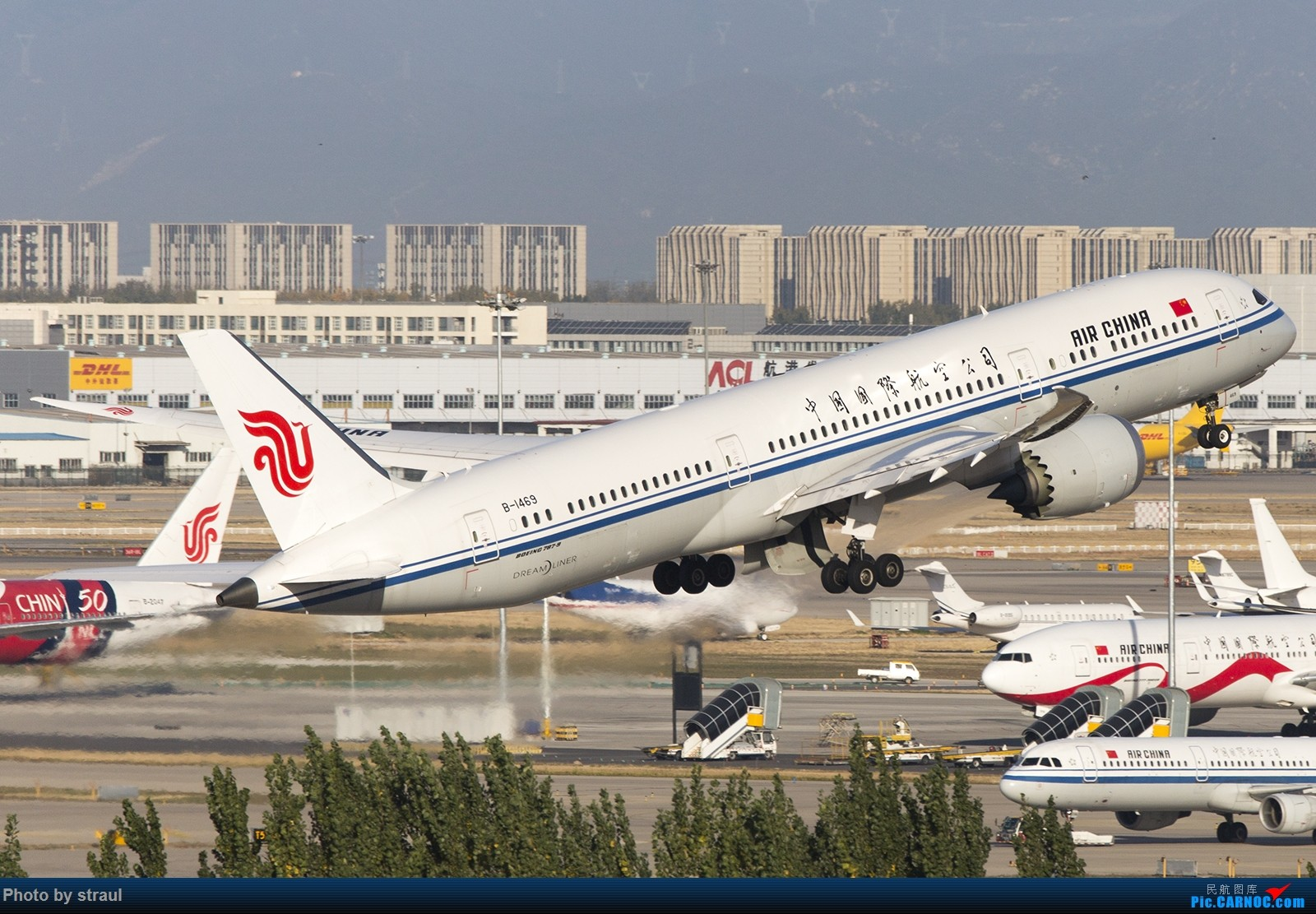 Re:[原创]「多图多机」国航 01 起飞一组 BOEING 787-9 B-1469 中国北京首都国际机场