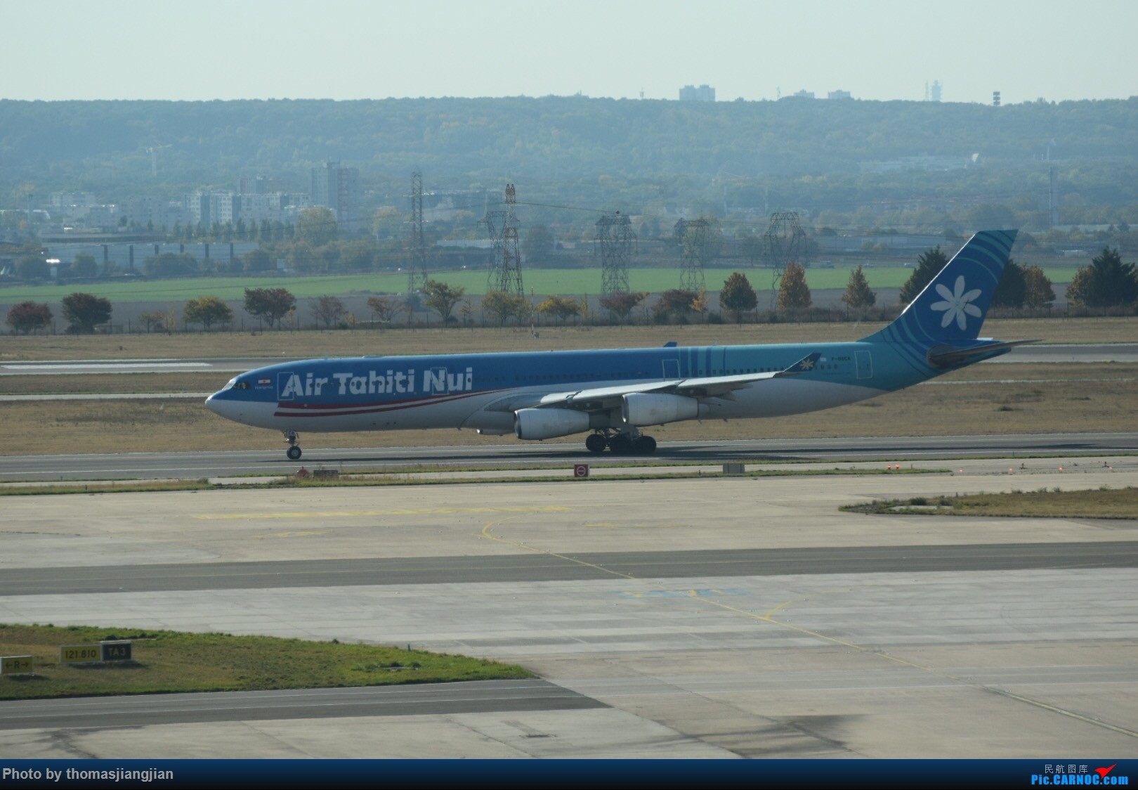 Re:[原创]巴黎戴高乐机场喜来登拍机 AIRBUS A340