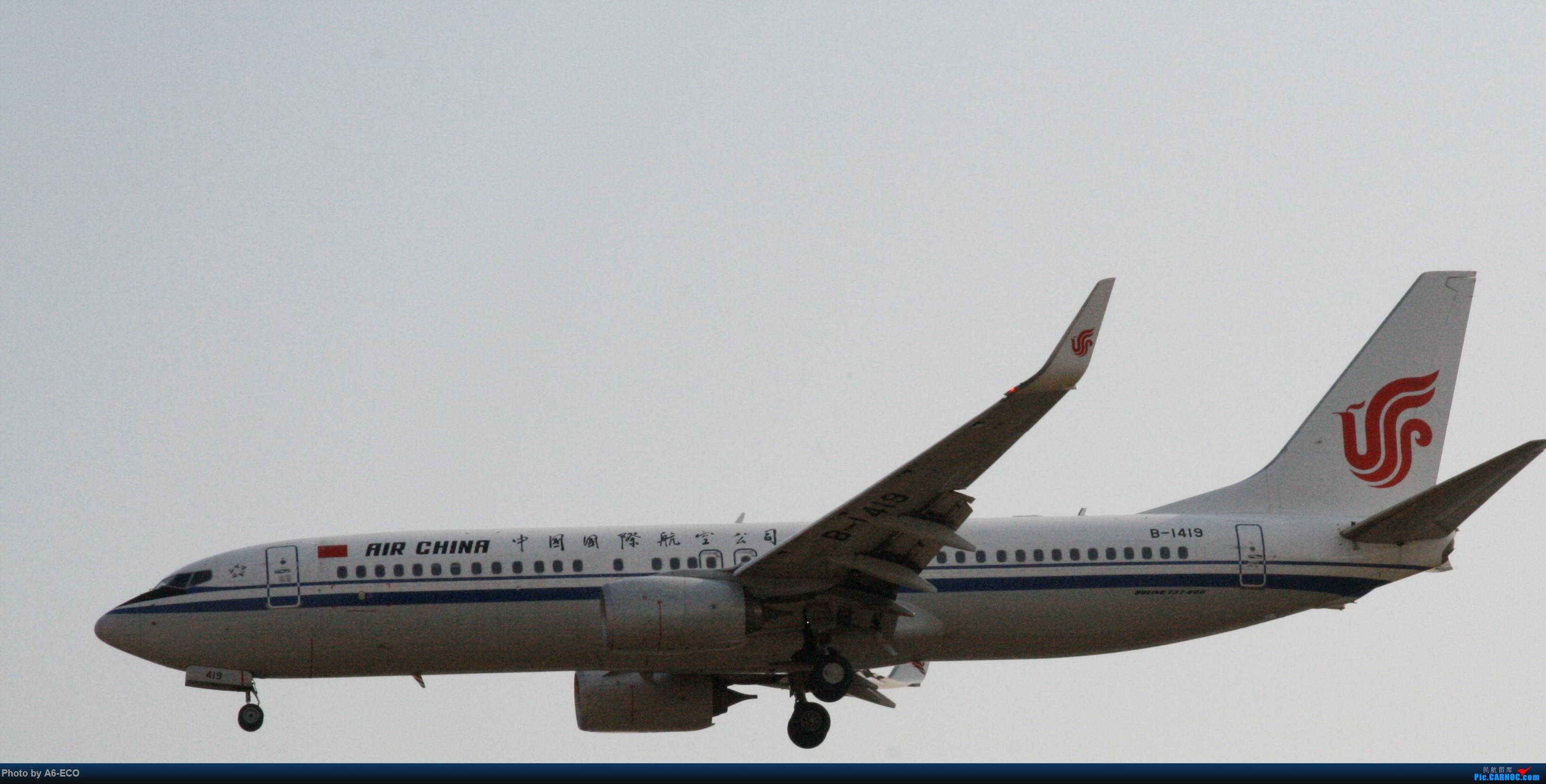 Re:[原创]大家双十一都du'o了什么?我在pek拍机 BOEING 737-800 B-1419 中国北京首都国际机场