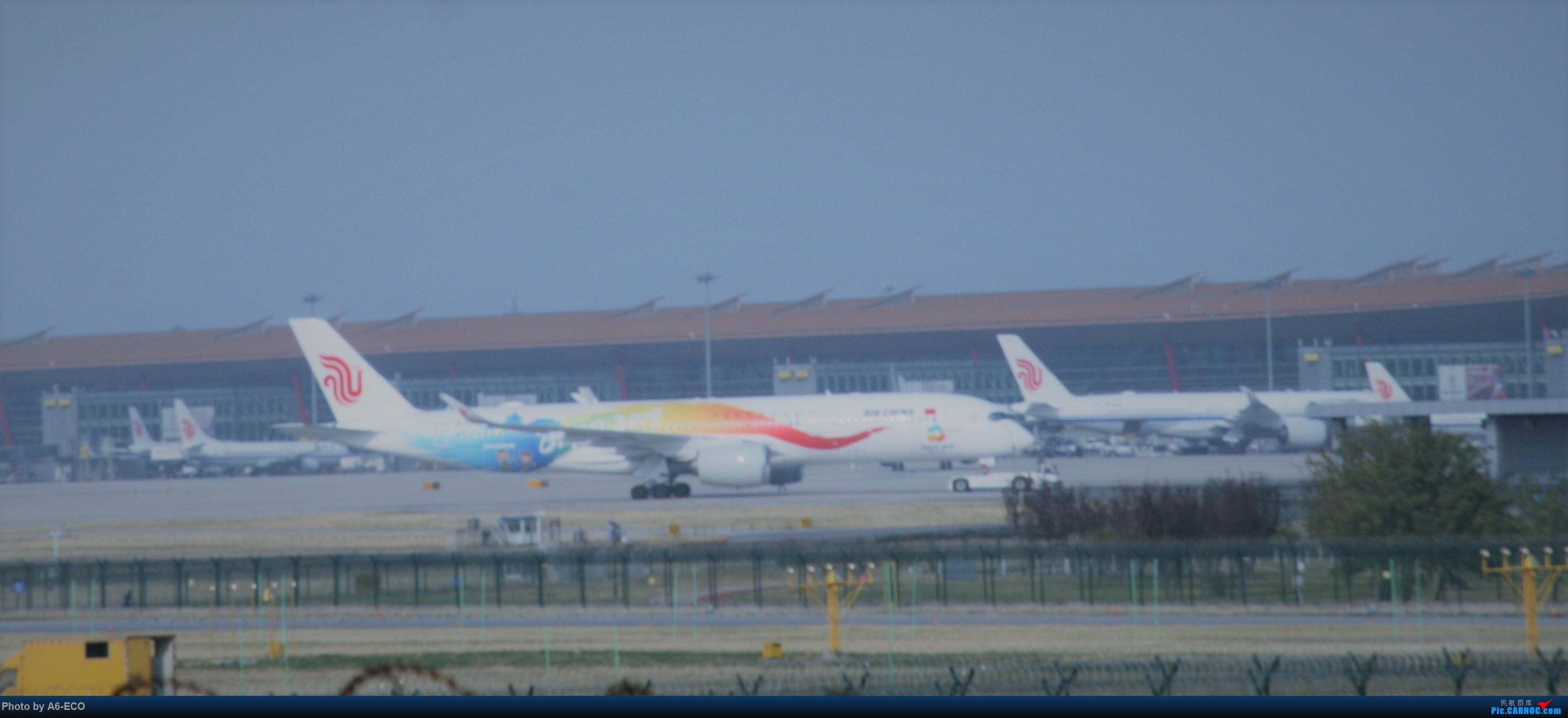 Re:[原创]大家双十一都du'o了什么?我在pek拍机 AIRBUS A350-900 B-1083 中国北京首都国际机场