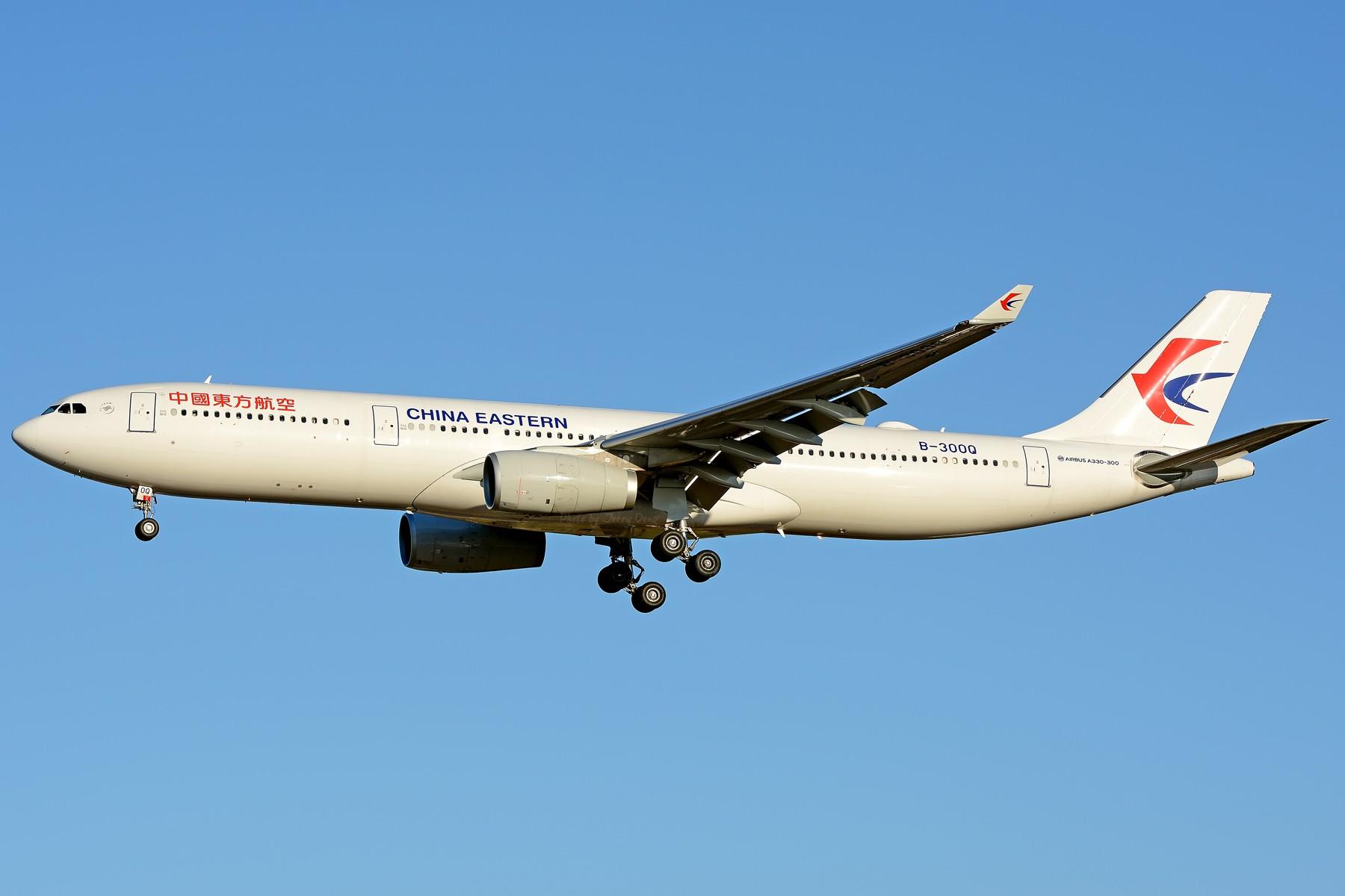 [原创]【一图党】CHINA EASTERN A330-343X B-300Q AIRBUS A330-300 B-300Q 中国北京首都国际机场