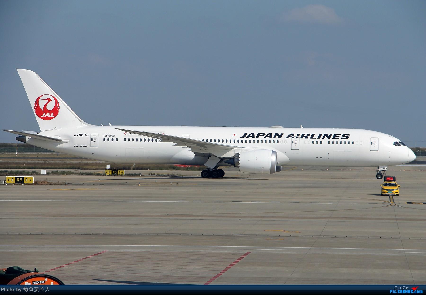 [原创]11月13日份的日航B789……JA869J,我在机场都蒙了