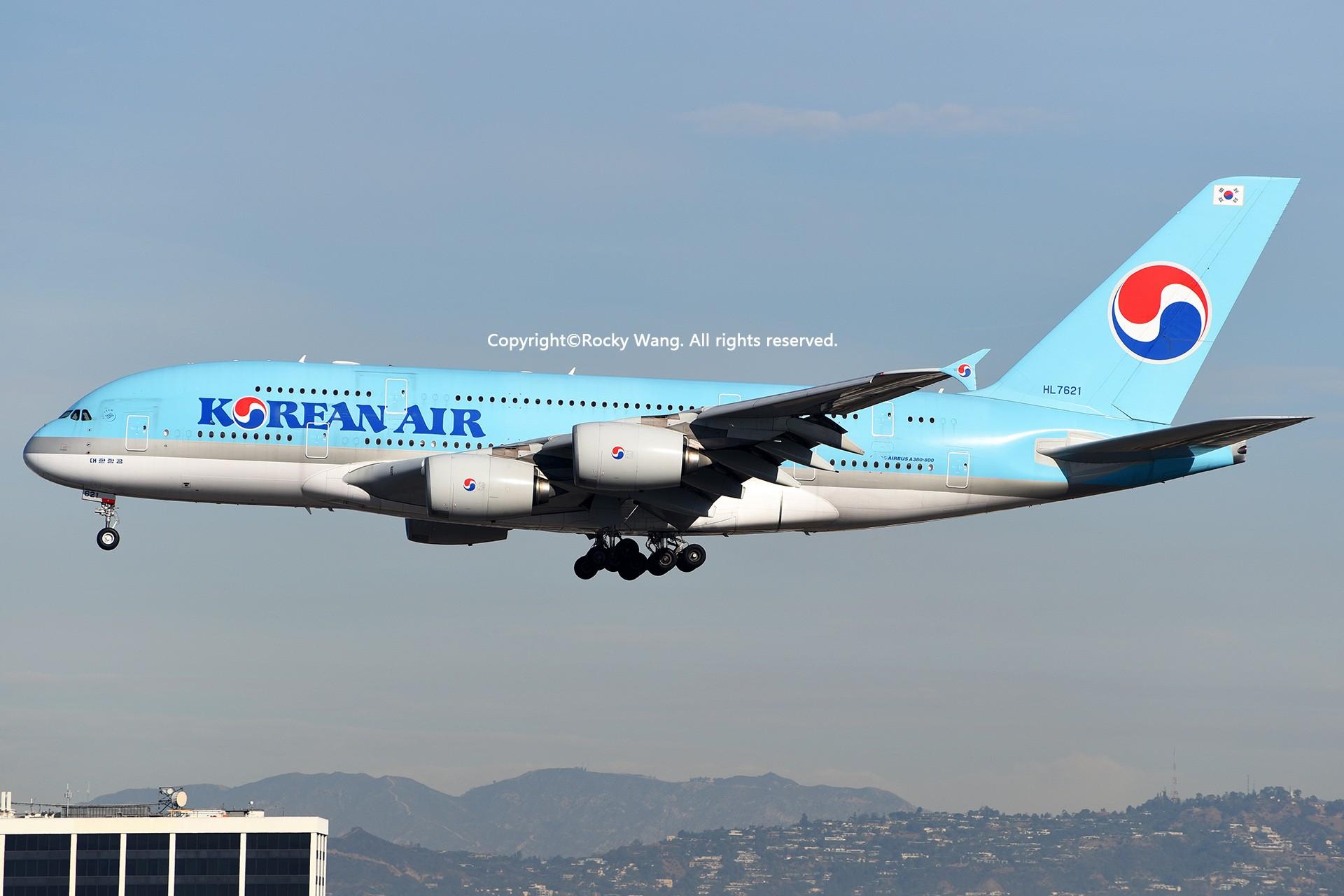 Re:[原创]KLAX 30图 AIRBUS A380-861 HL7621 Los Angeles Int'l Airport