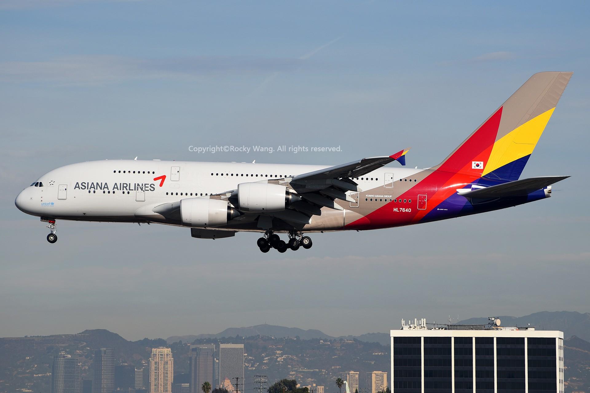 Re:[原创]KLAX 30图 AIRBUS A380-841 HL7640 Los Angeles Int'l Airport