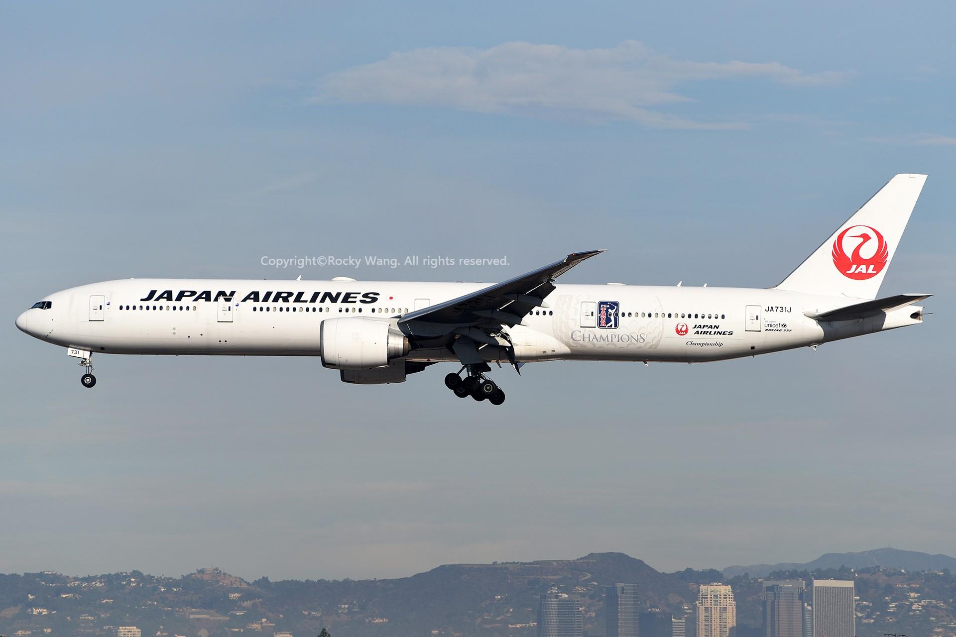 Re:[原创]KLAX 30图 BOEING 777-346ER JA731J Los Angeles Int'l Airport