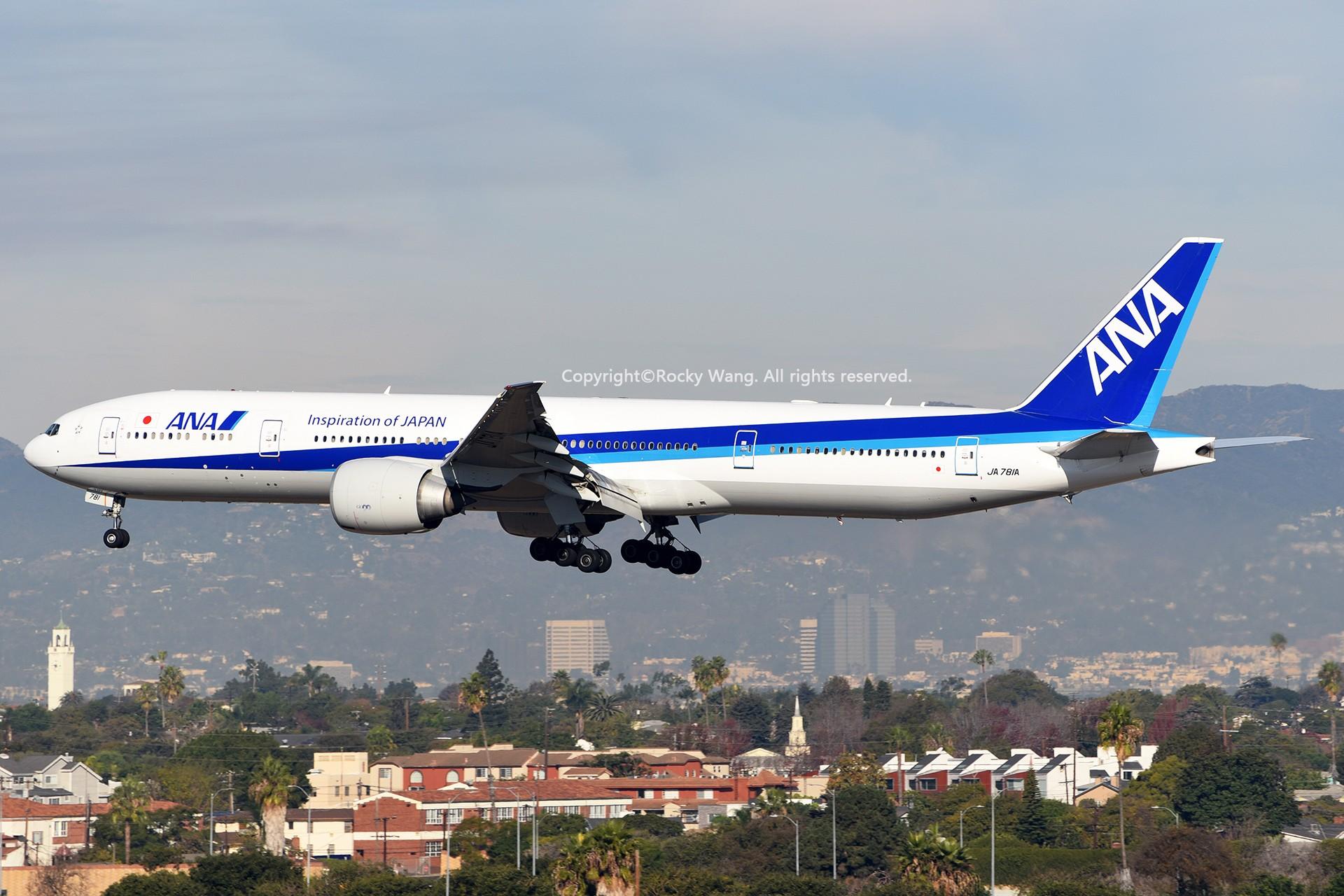 Re:[原创]KLAX 30图 BOEING 777-381ER JA781A Los Angeles Int'l Airport