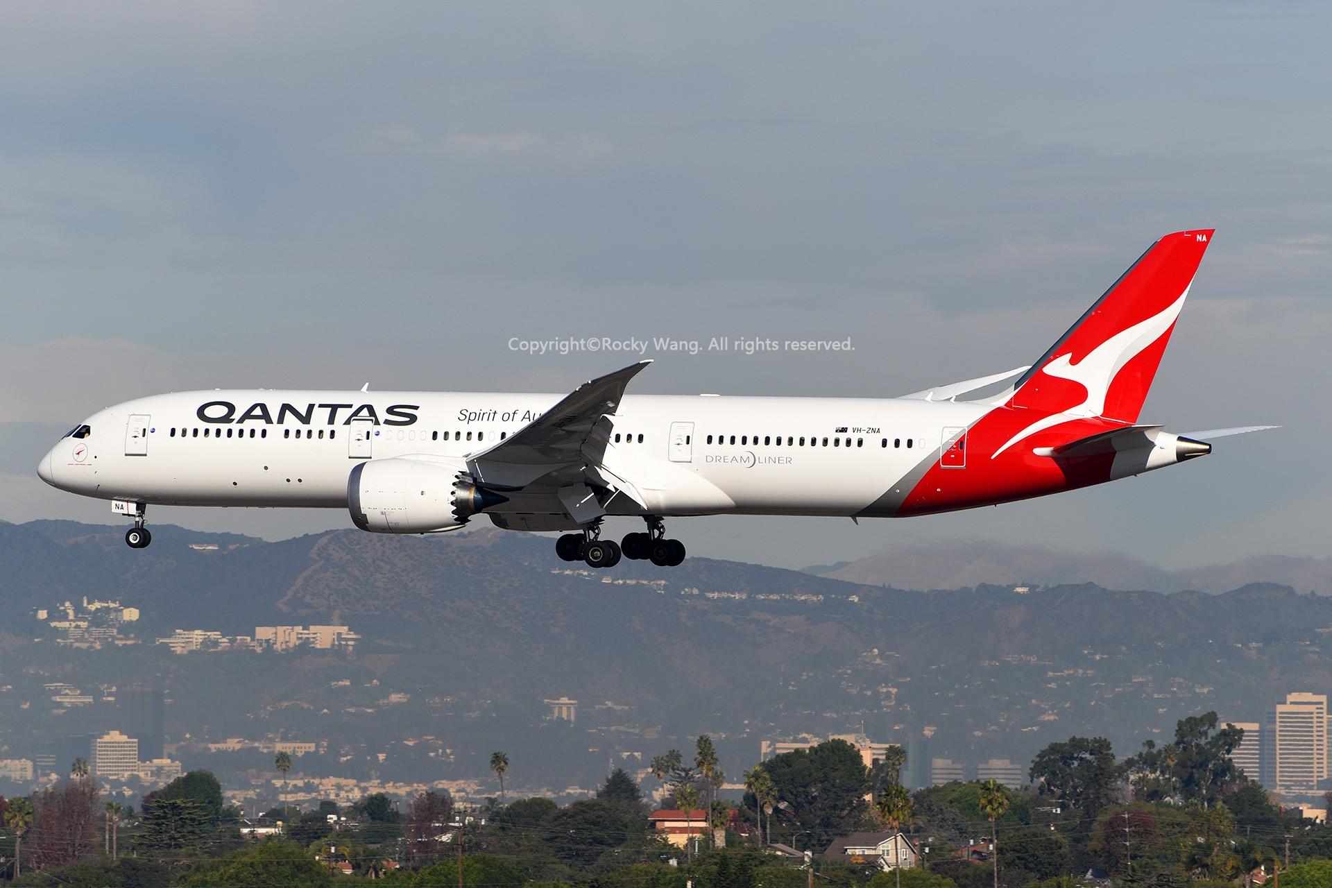 Re:[原创]KLAX 30图 BOEING 787-9 DREAMLINER VH-ZNA Los Angeles Int'l Airport