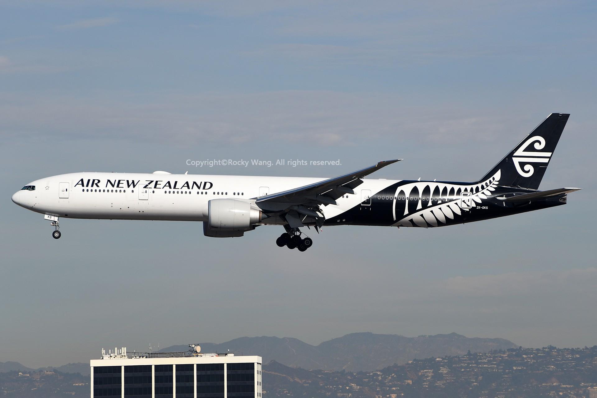 Re:[原创]KLAX 30图 BOEING 777-319ER ZK-OKS Los Angeles Int'l Airport