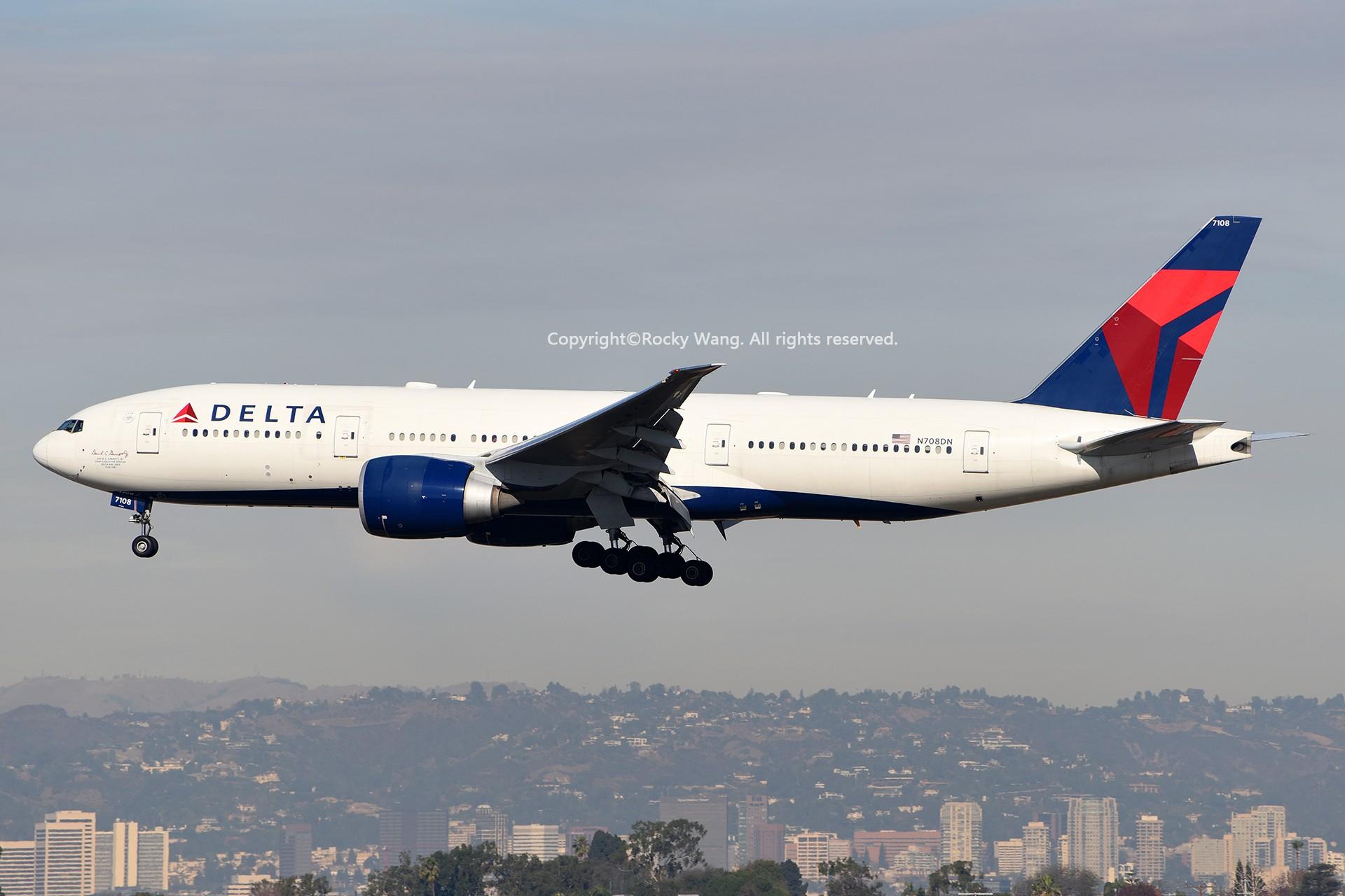 Re:[原创]KLAX 30图 BOEING 777-232LR N708DN Los Angeles Int'l Airport