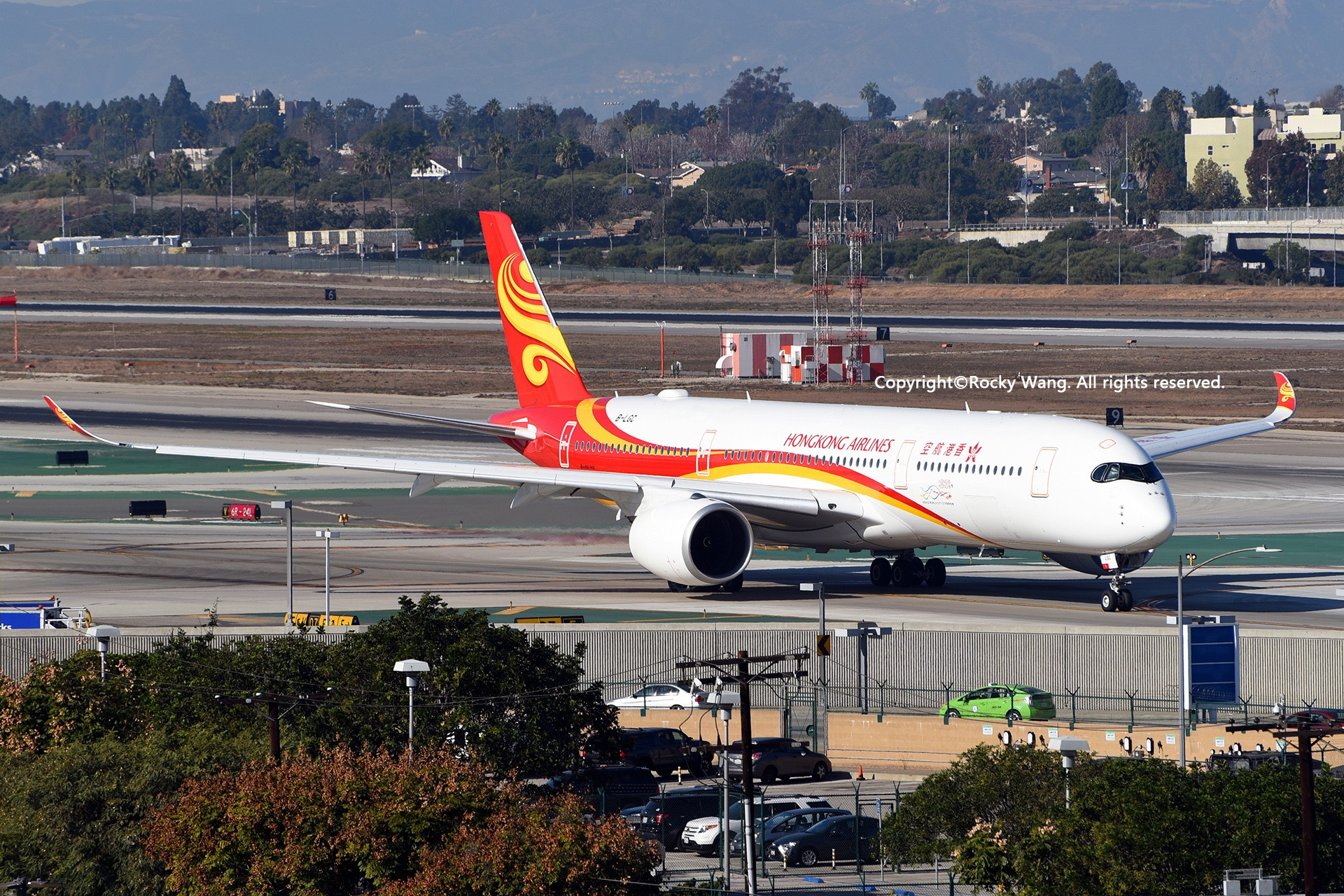 Re:[原创]KLAX 30图 HONG KONG AIRLINES B-LGC Los Angeles Int'l Airport