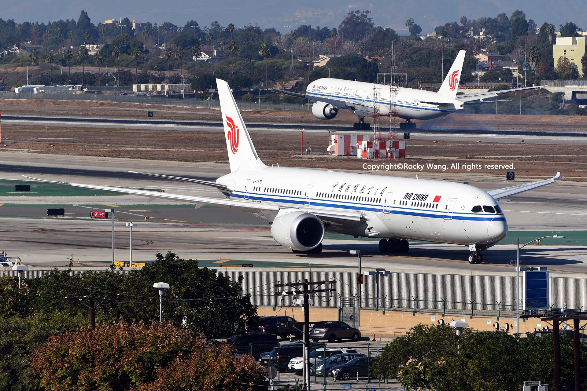 Re:[原创]KLAX 30图 BOEING 787-9 DREAMLINER B-7878 Los Angeles Int'l Airport