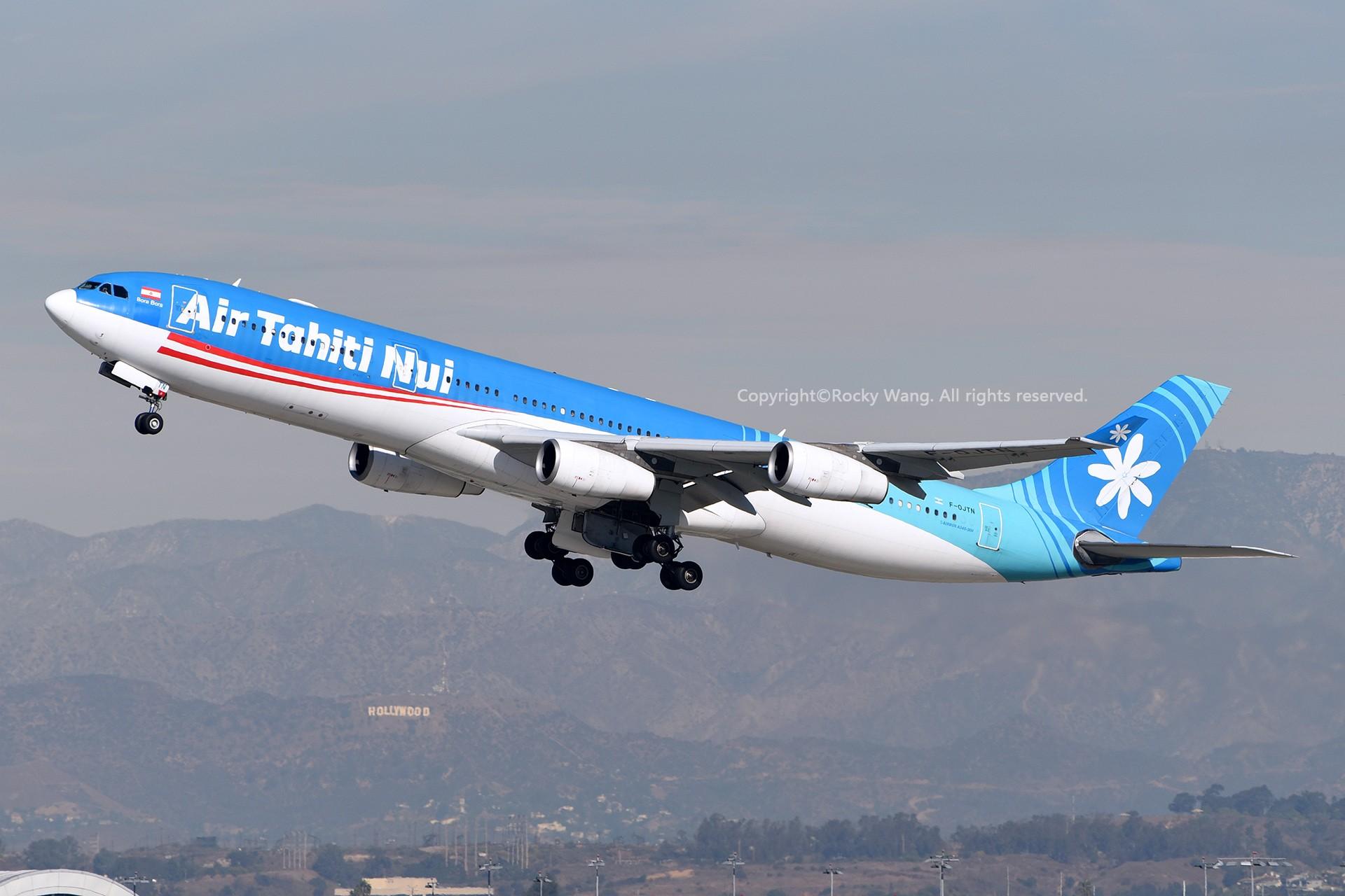 Re:[原创]KLAX 30图 AIRBUS A340-313X F-OJTN Los Angeles Int'l Airport