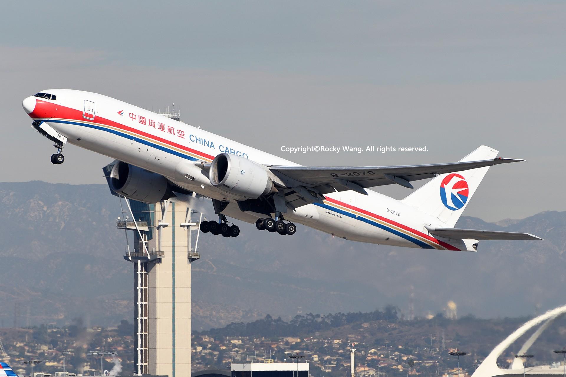 Re:[原创]KLAX 30图 BOEING 777-F6N B-2078 Los Angeles Int'l Airport
