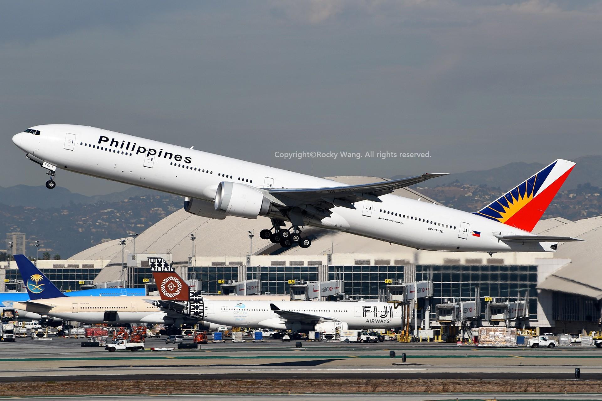 Re:[原创]KLAX 30图 BOEING 777-3F6ER RP-C7775 Los Angeles Int'l Airport