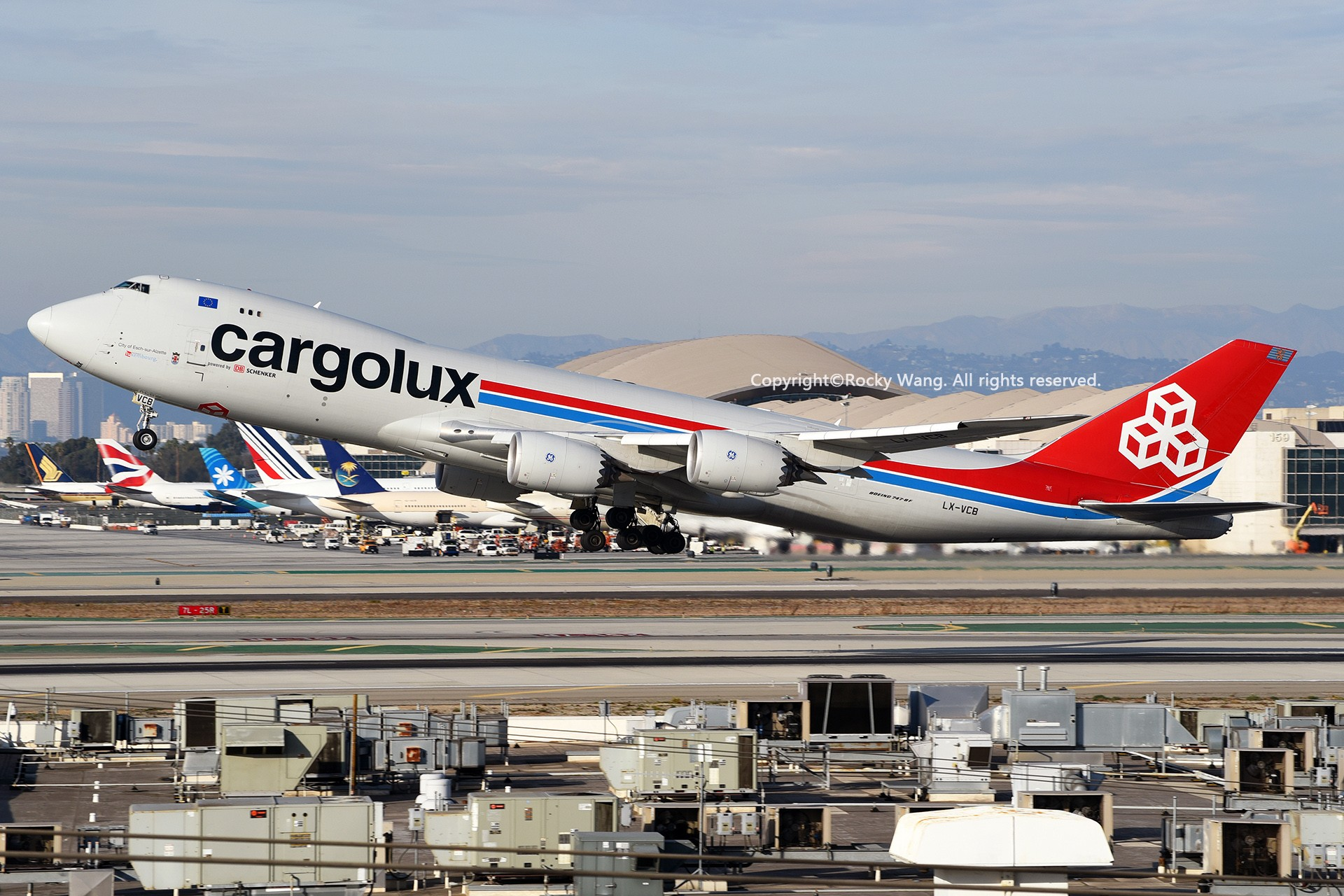 Re:[原创]KLAX 30图 BOEING 747-8R7F LX-VCB Los Angeles Int'l Airport