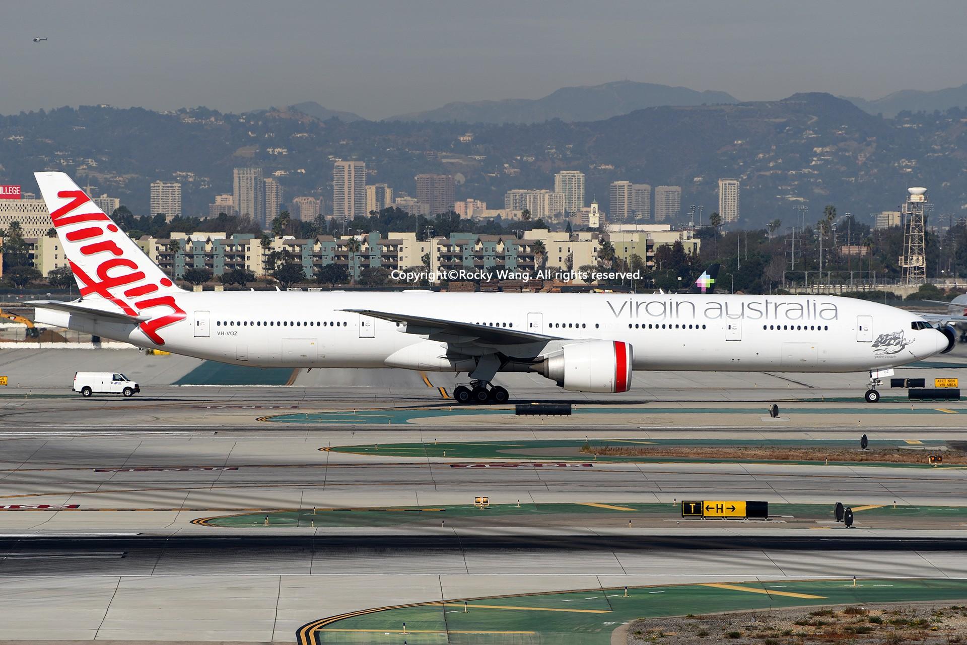 Re:[原创]KLAX 30图 BOEING 777-3ZGER VH-VOZ Los Angeles Int'l Airport
