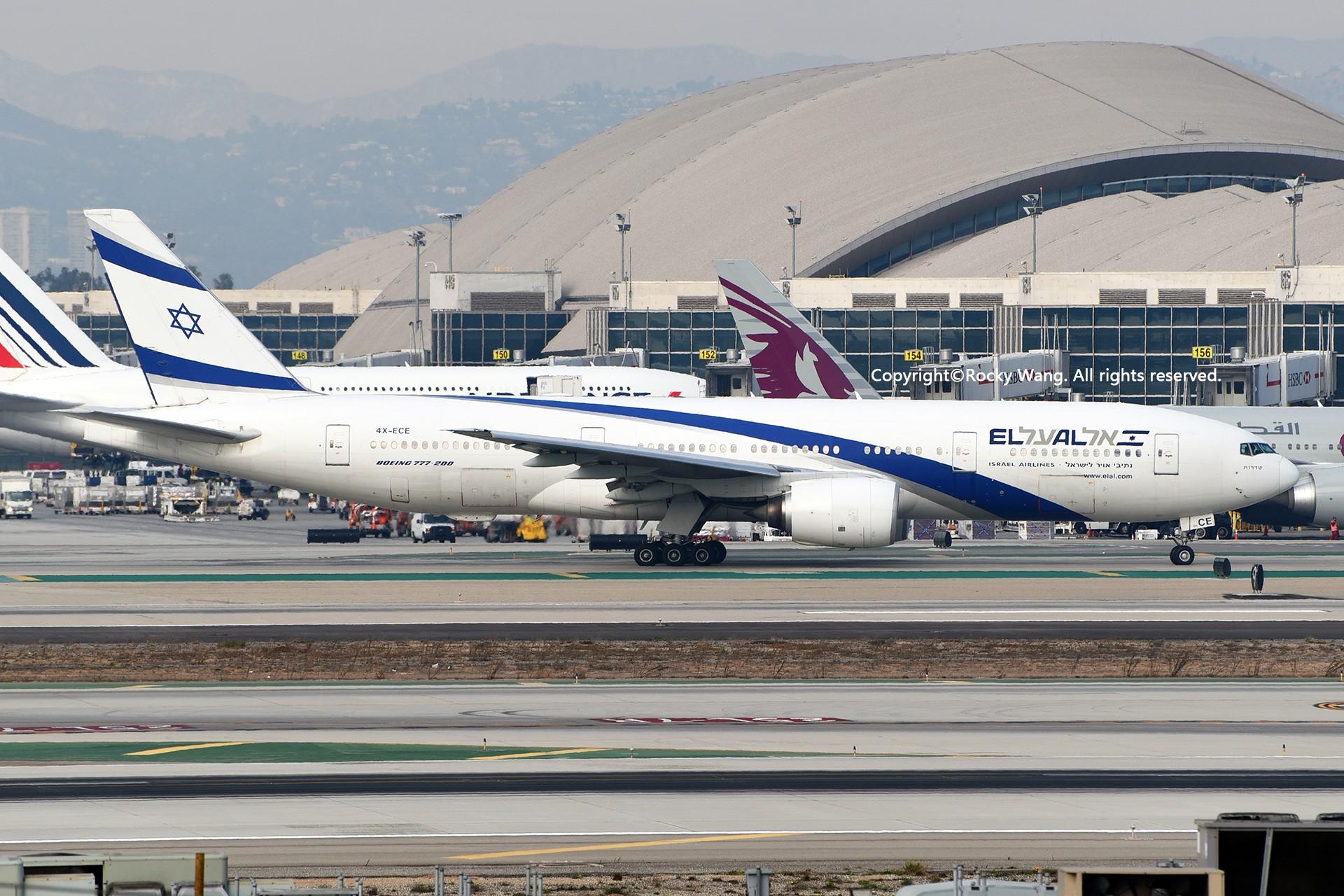 Re:[原创]KLAX 30图 BOEING 777-258(ER) 4X-ECE Los Angeles Int'l Airport