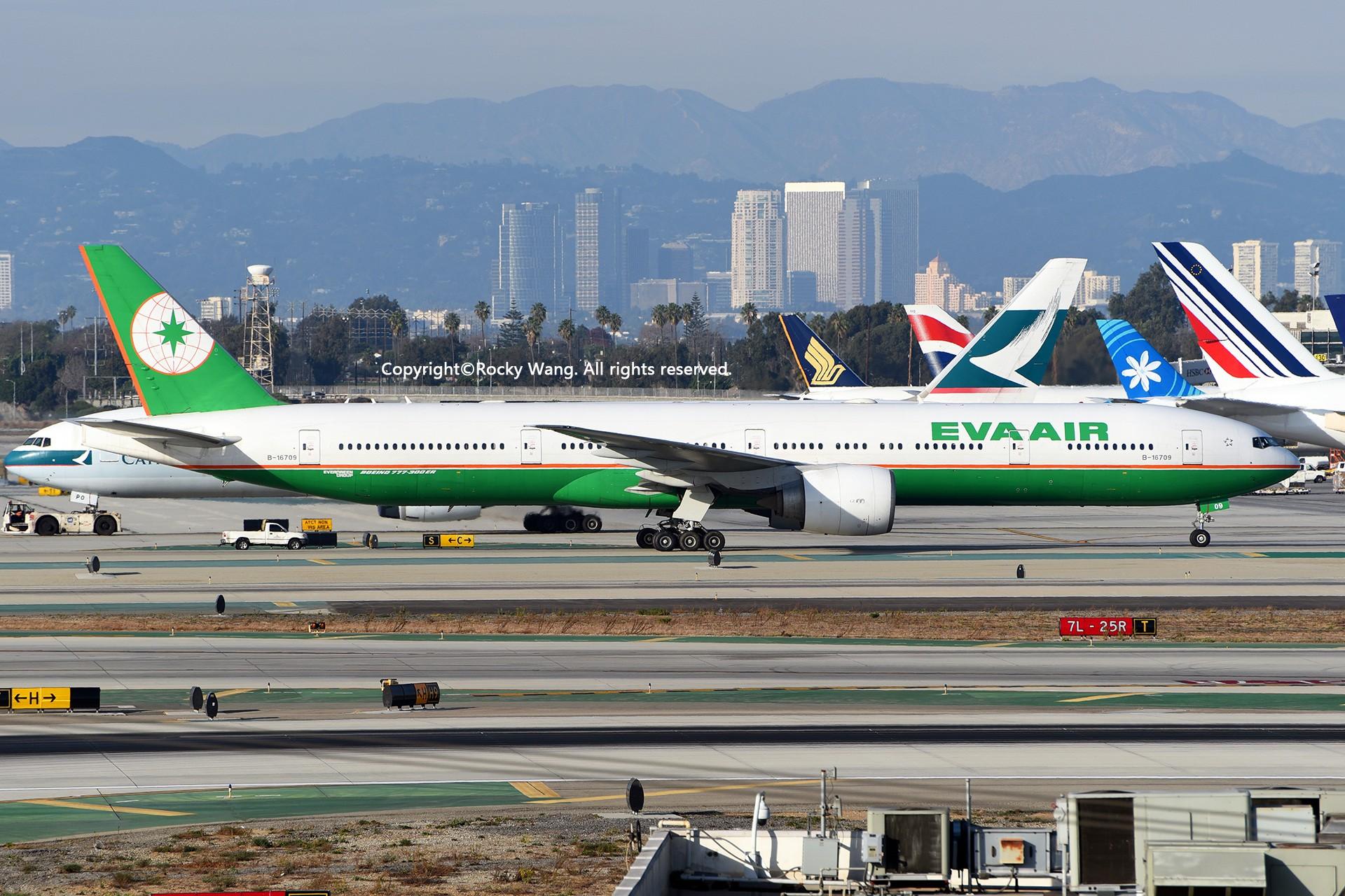 Re:[原创]KLAX 30图 BOEING 777-35EER B-16709 Los Angeles Int'l Airport