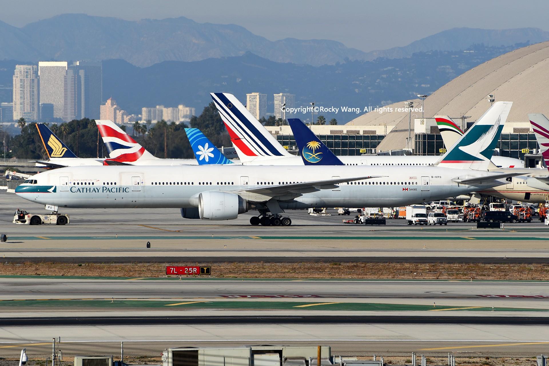 Re:[原创]KLAX 30图 BOEING 777-367ER B-KPO Los Angeles Int'l Airport
