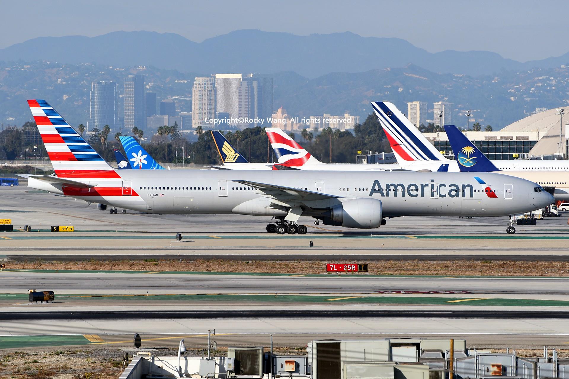 Re:[原创]KLAX 30图 BOEING 777-323ER N717AN Los Angeles Int'l Airport