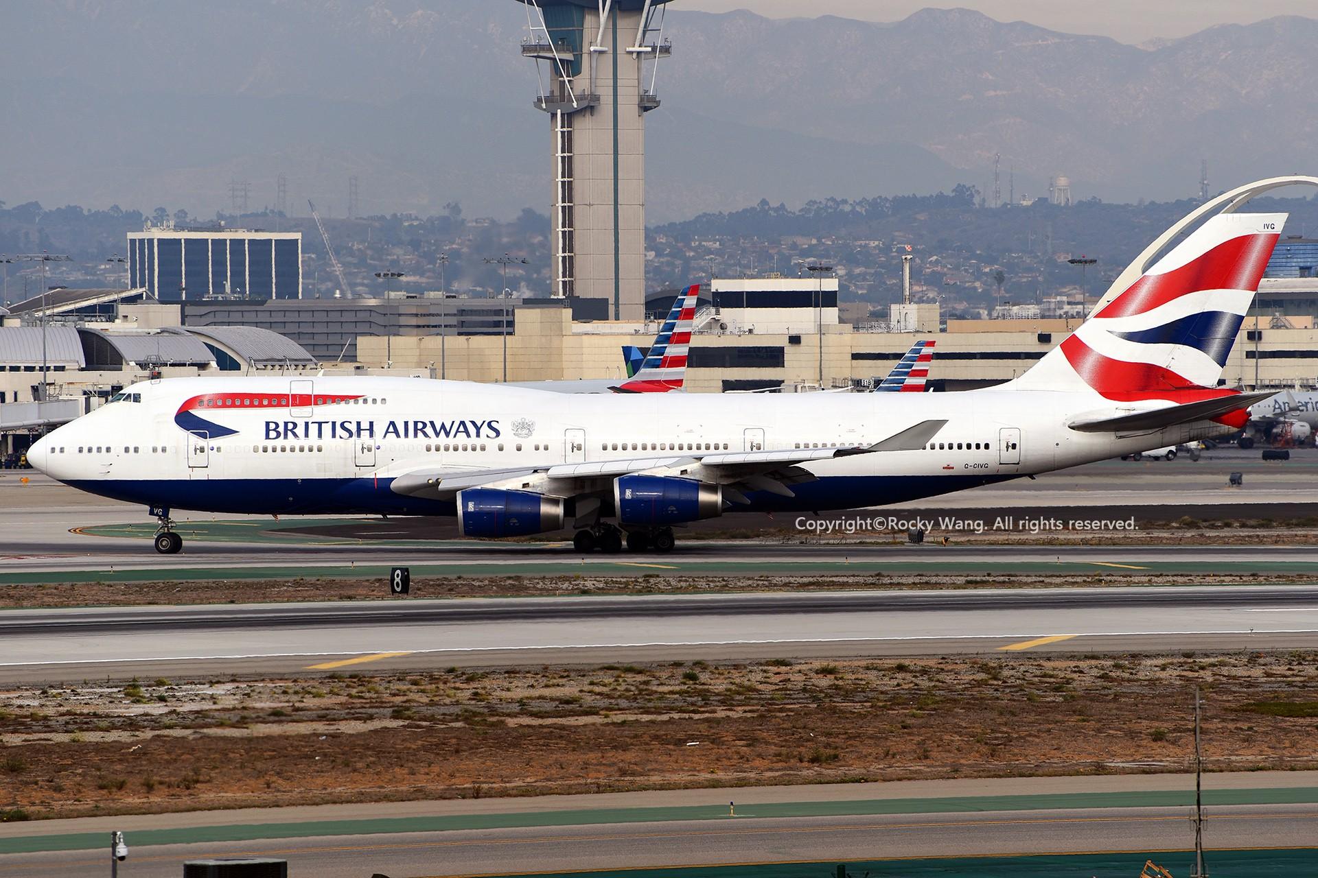Re:[原创]KLAX 30图 BOEING 747-436 G-CIVG Los Angeles Int'l Airport