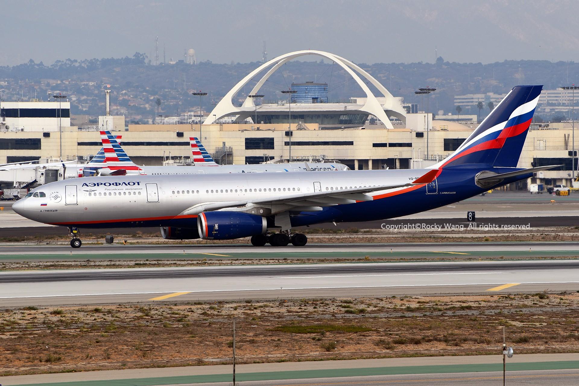 Re:[原创]KLAX 30图 AIRBUS A330-243 VQ-BBF Los Angeles Int'l Airport