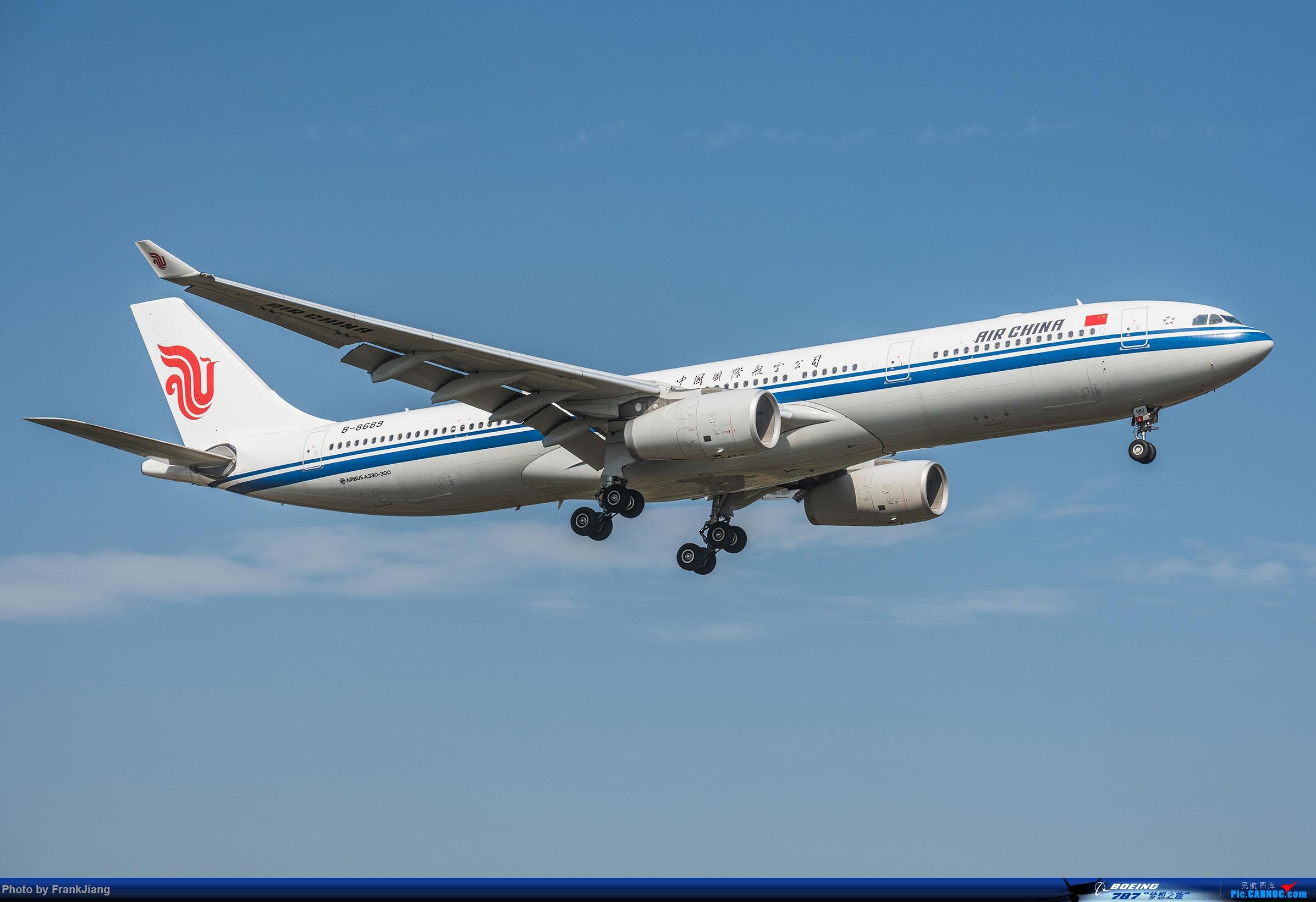 【国航】B-8689_Airbus A330-300 AIRBUS A330-300 B-8689 杭州萧山国际机场