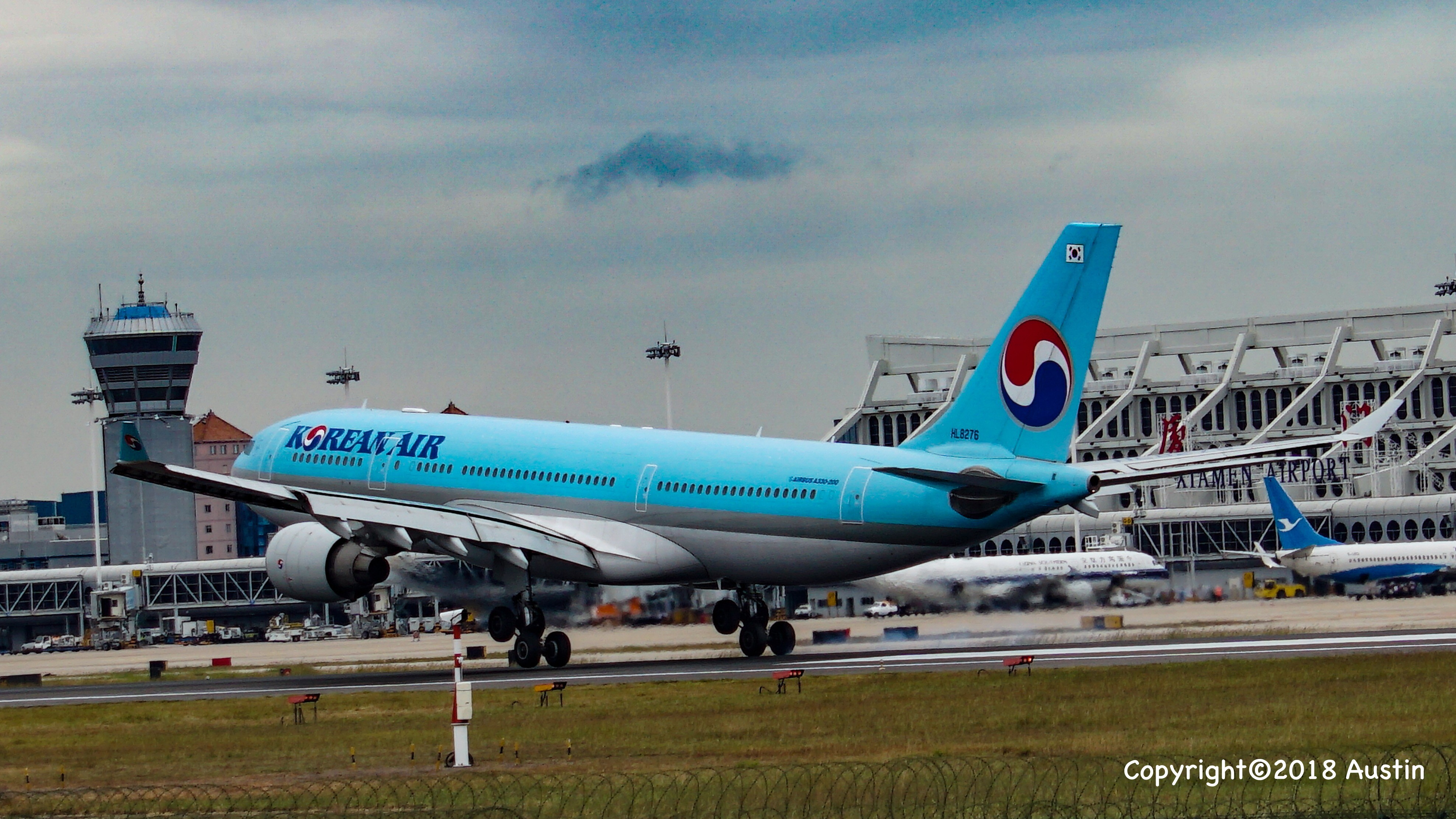 Re:[原创][XMN]接熊猫啦~ AIRBUS A330-223 HL8276 中国厦门高崎国际机场