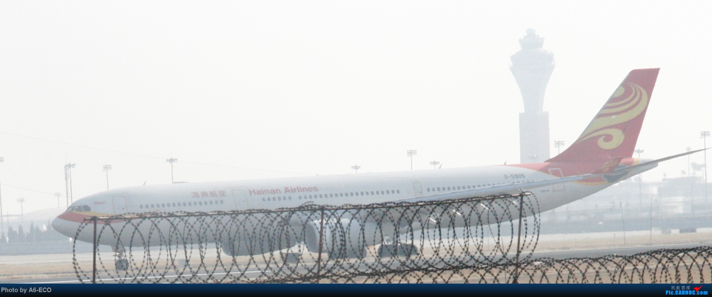 Re:[原创]今天运气极好,云南孔雀,B-1070,2个菜航邮戳,泡菜航彩绘,东航邮戳...... AIRBUS A330-300 B-5905 中国北京首都国际机场