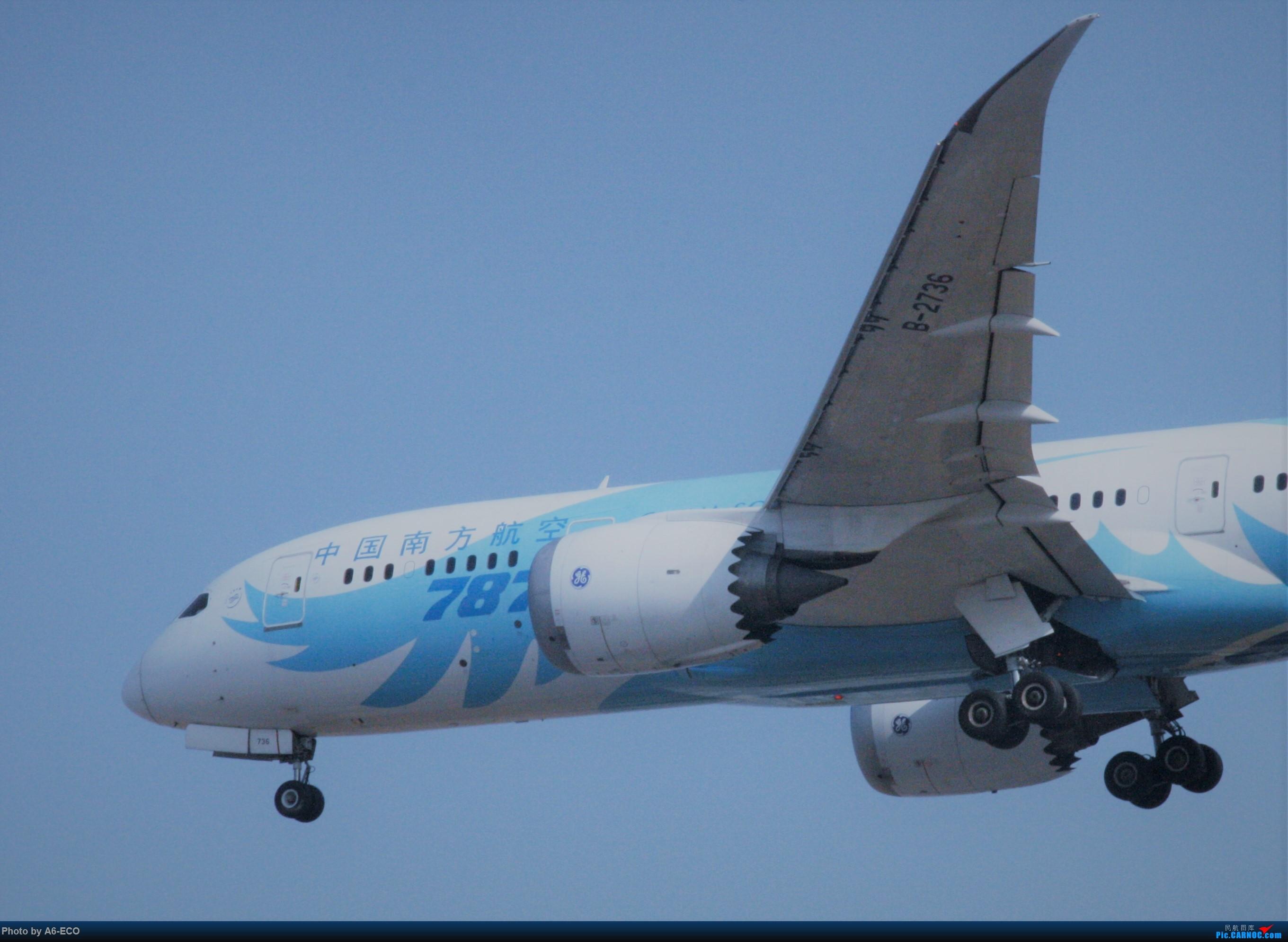 Re:[原创]今天运气极好,云南孔雀,B-1070,2个菜航邮戳,泡菜航彩绘,东航邮戳...... BOEING 787-8 B-2736 中国北京首都国际机场