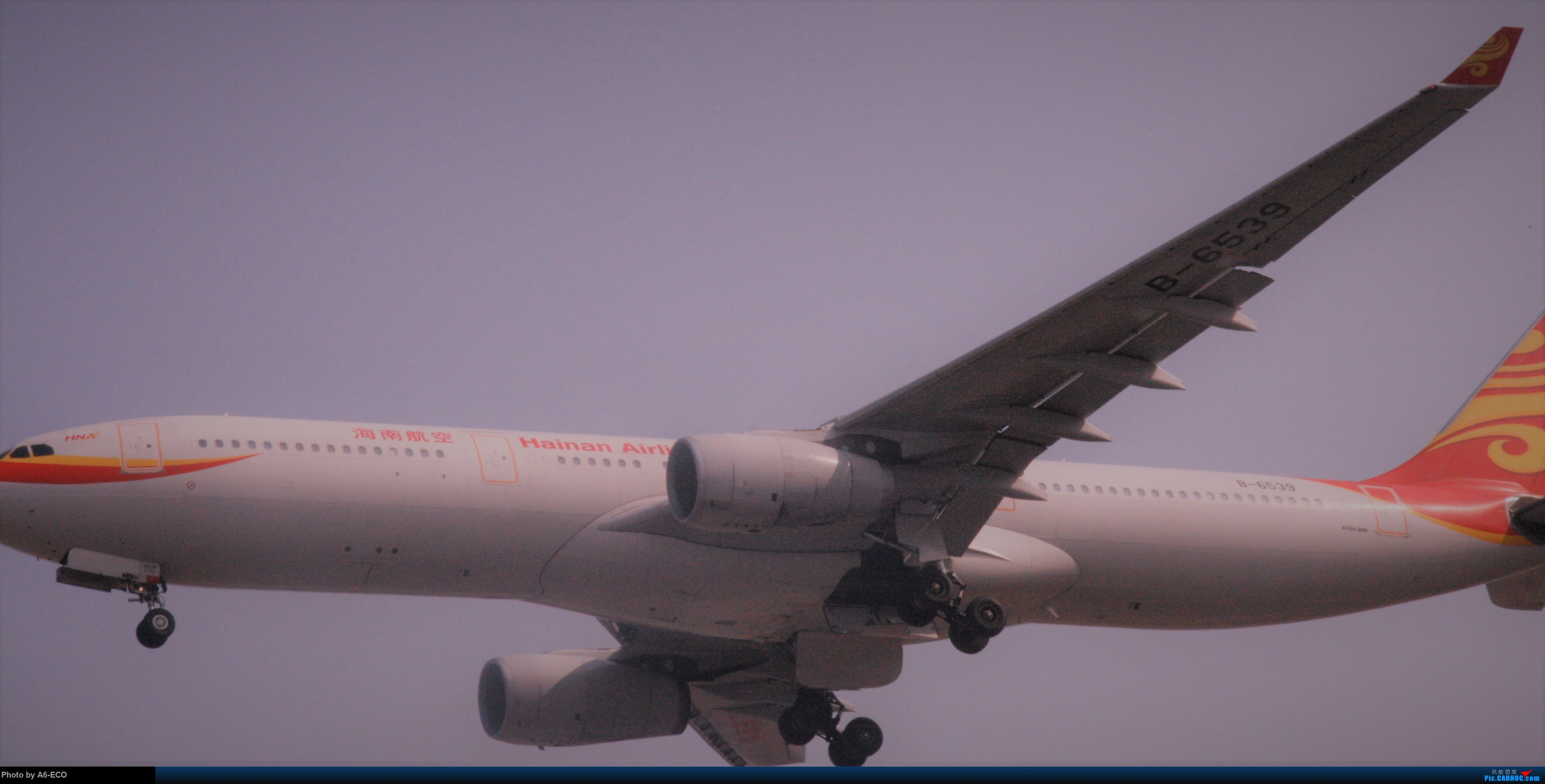Re:[原创]今天运气极好,云南孔雀,B-1070,2个菜航邮戳,泡菜航彩绘,东航邮戳...... AIRBUS A330-300 B-6539 中国北京首都国际机场
