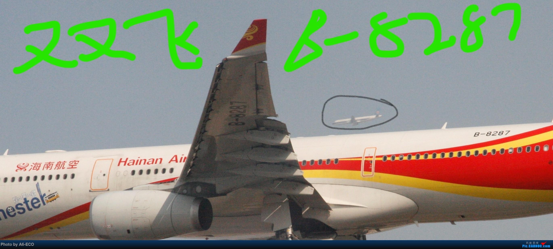 Re:[原创]今天运气极好,云南孔雀,B-1070,2个菜航邮戳,泡菜航彩绘,东航邮戳...... AIRBUS A330-300 B-8287 中国北京首都国际机场