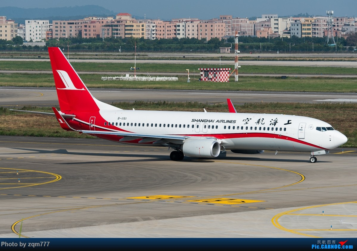 Re:[原创]11.23 白云机场小拍 BOEING 737-800 B-1151 中国广州白云国际机场