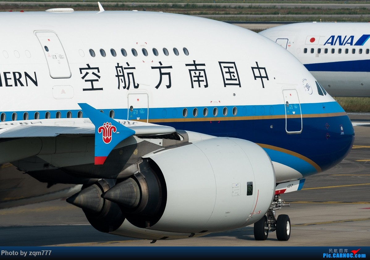 Re:[原创]11.23 白云机场小拍 AIRBUS A380 B-6137 中国广州白云国际机场