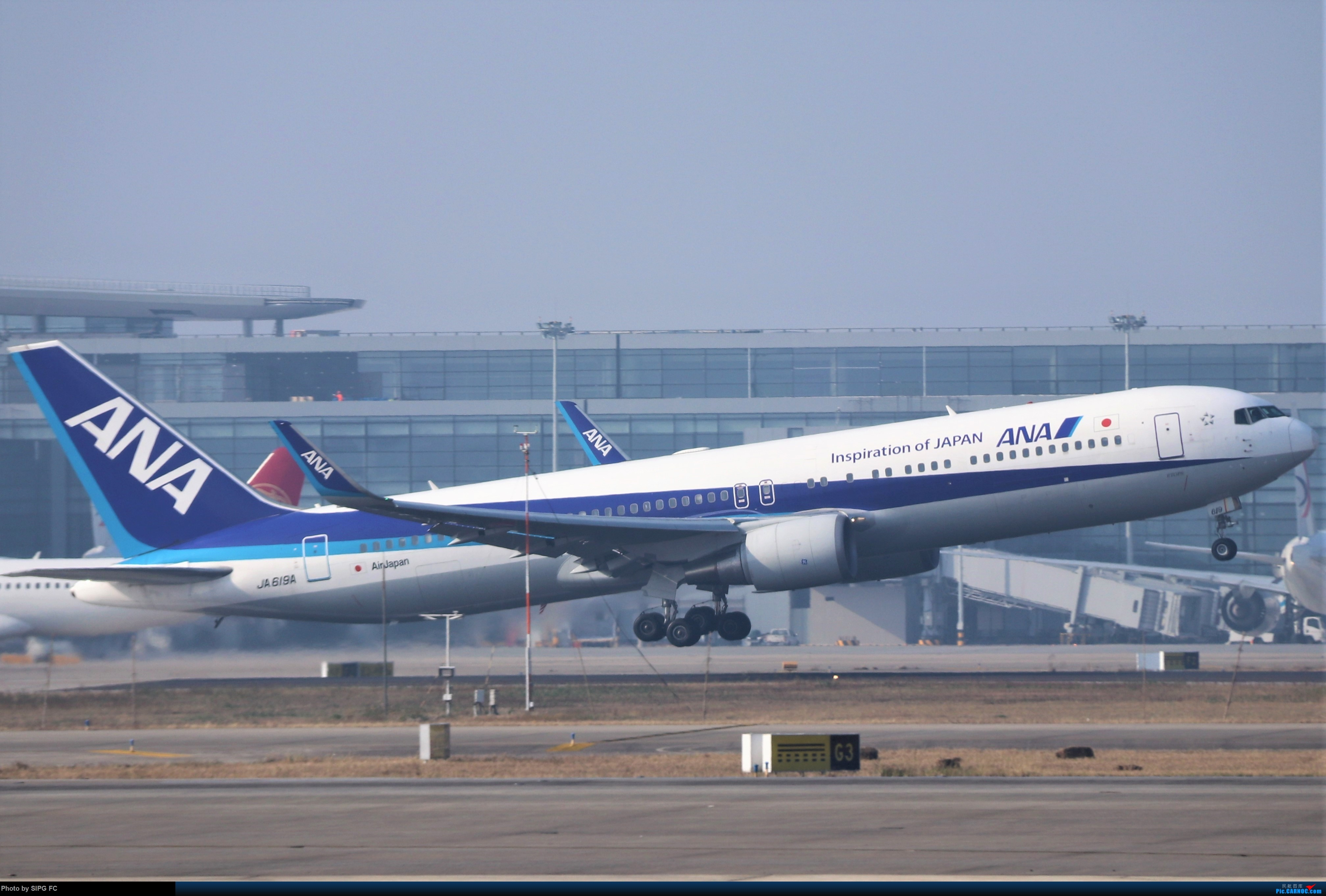 Re:[原创]清晨浓雾散去后繁忙的浦东机场 BOEING 767 JA-619A 中国上海浦东国际机场