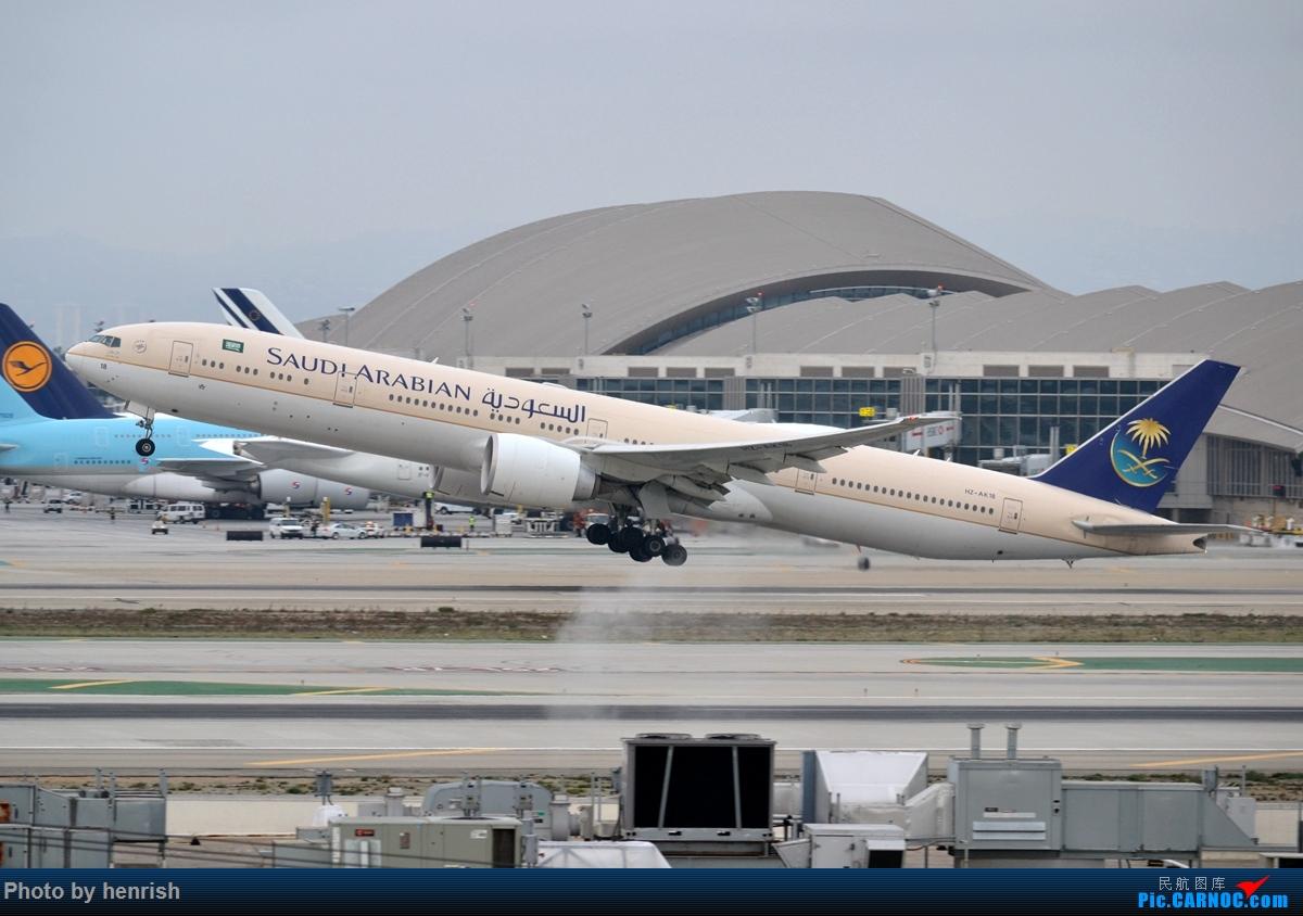 Re:[原创]【肥威的CAN】藏在硬盘里N年前的罗省40+图【 广东青少年拍机小队】【广州,你好!】 BOEING 777-300ER HZ-AK18 美国洛杉矶机场