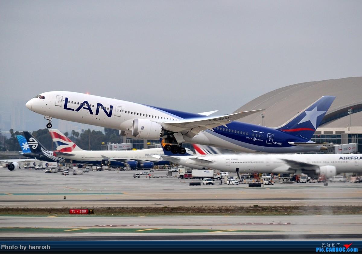 Re:[原创]【肥威的CAN】藏在硬盘里N年前的罗省40+图【 广东青少年拍机小队】【广州,你好!】 BOEING 787-9 CC-BGH 美国洛杉矶机场
