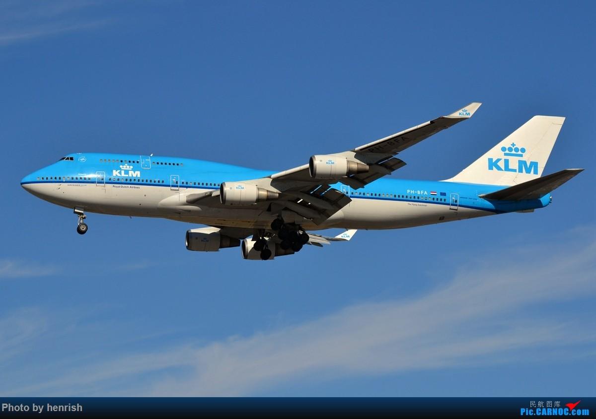Re:[原创]【肥威的CAN】藏在硬盘里N年前的罗省40+图【 广东青少年拍机小队】【广州,你好!】 BOEING 747-400 PH-BFA 美国洛杉矶机场