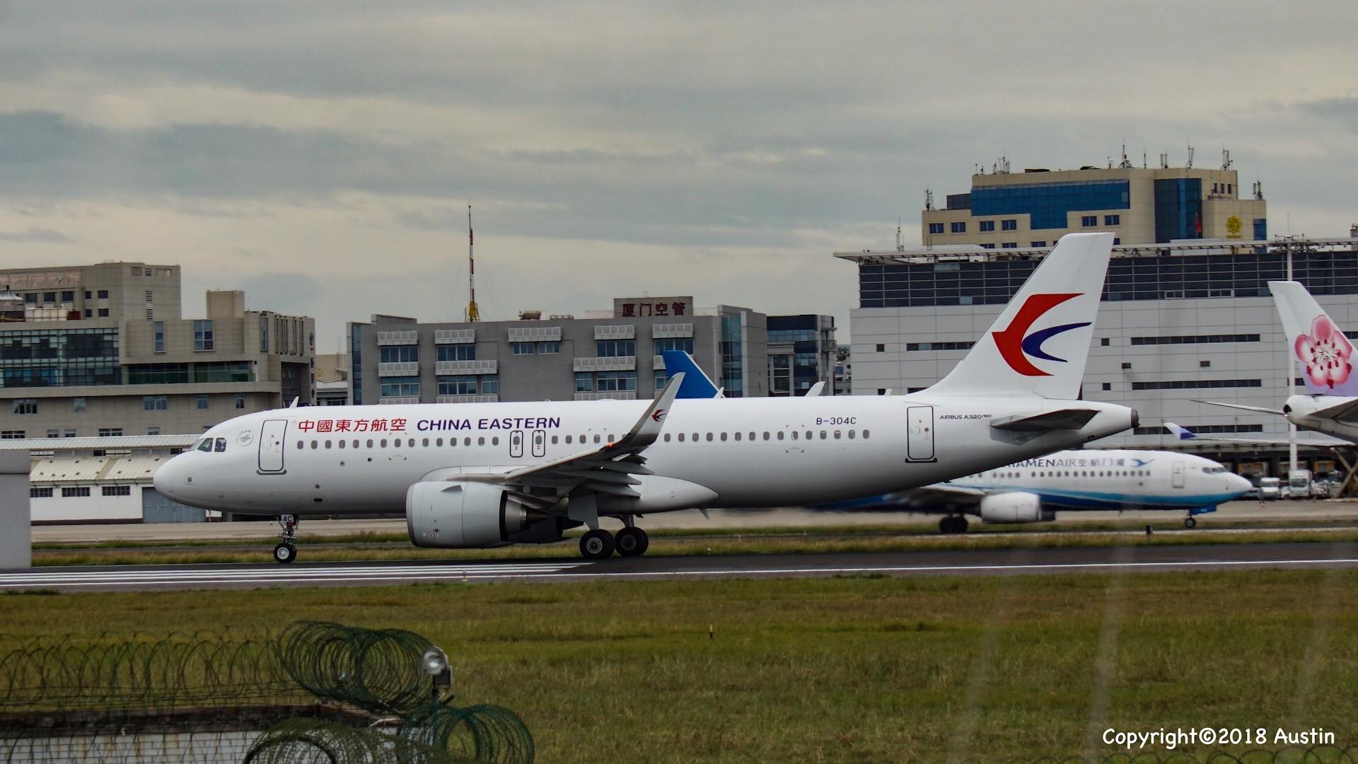 Re:[原创][XMN]接熊猫啦~part 1 AIRBUS A320NEO B-304C 中国厦门高崎国际机场
