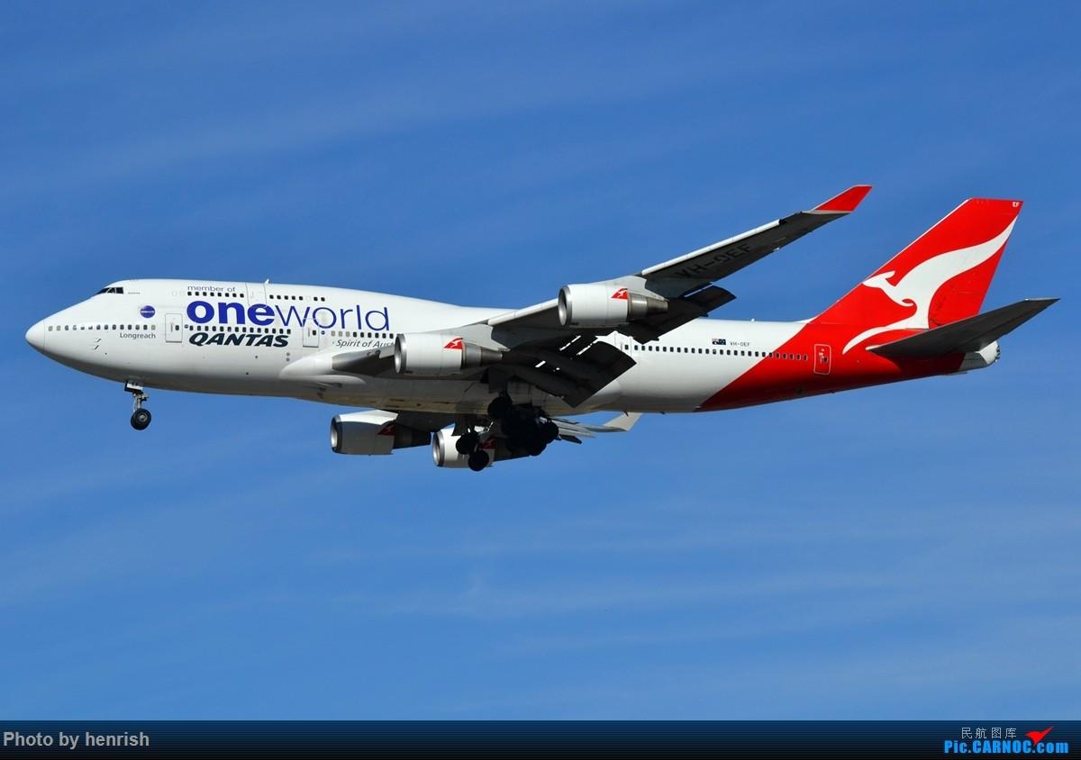 Re:[原创]【肥威的CAN】藏在硬盘里N年前的罗省40+图【 广东青少年拍机小队】【广州,你好!】 BOEING 747-400 VH-OEF 美国洛杉矶机场