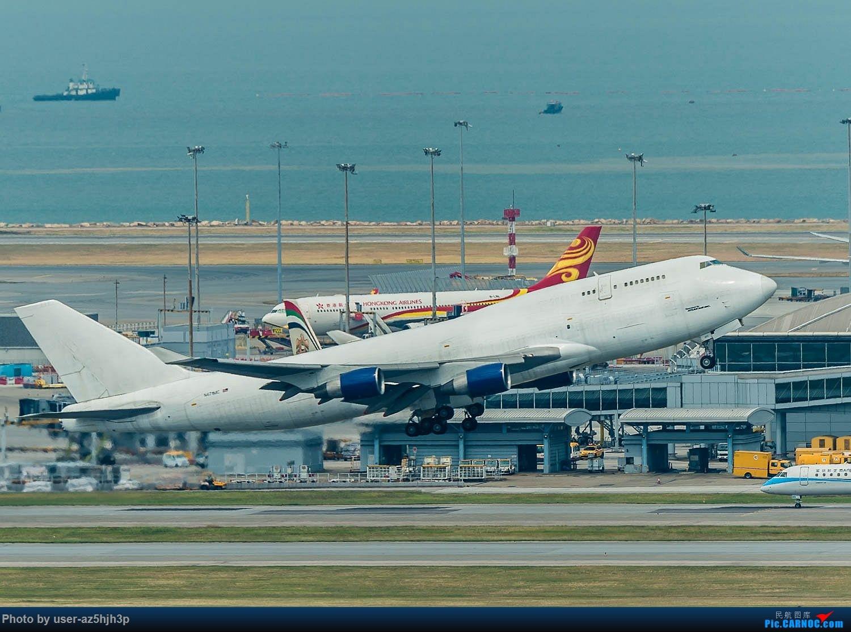 Re:[原创]香港机场拍的747 BOEING 747-400 N437CM 香港赤鱲角国际机场