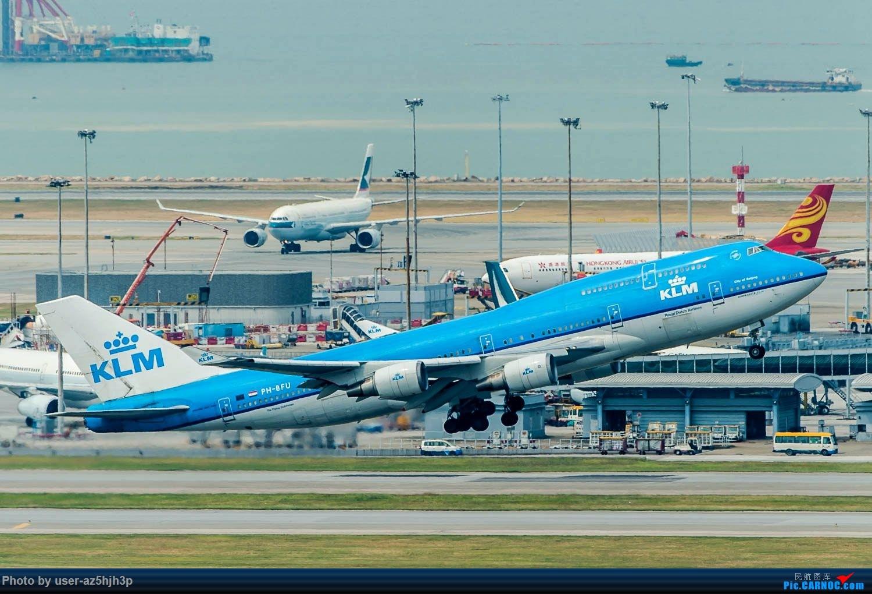 Re:[原创]香港机场拍的747 BOEING 747-400 PH-BFU 香港赤鱲角国际机场